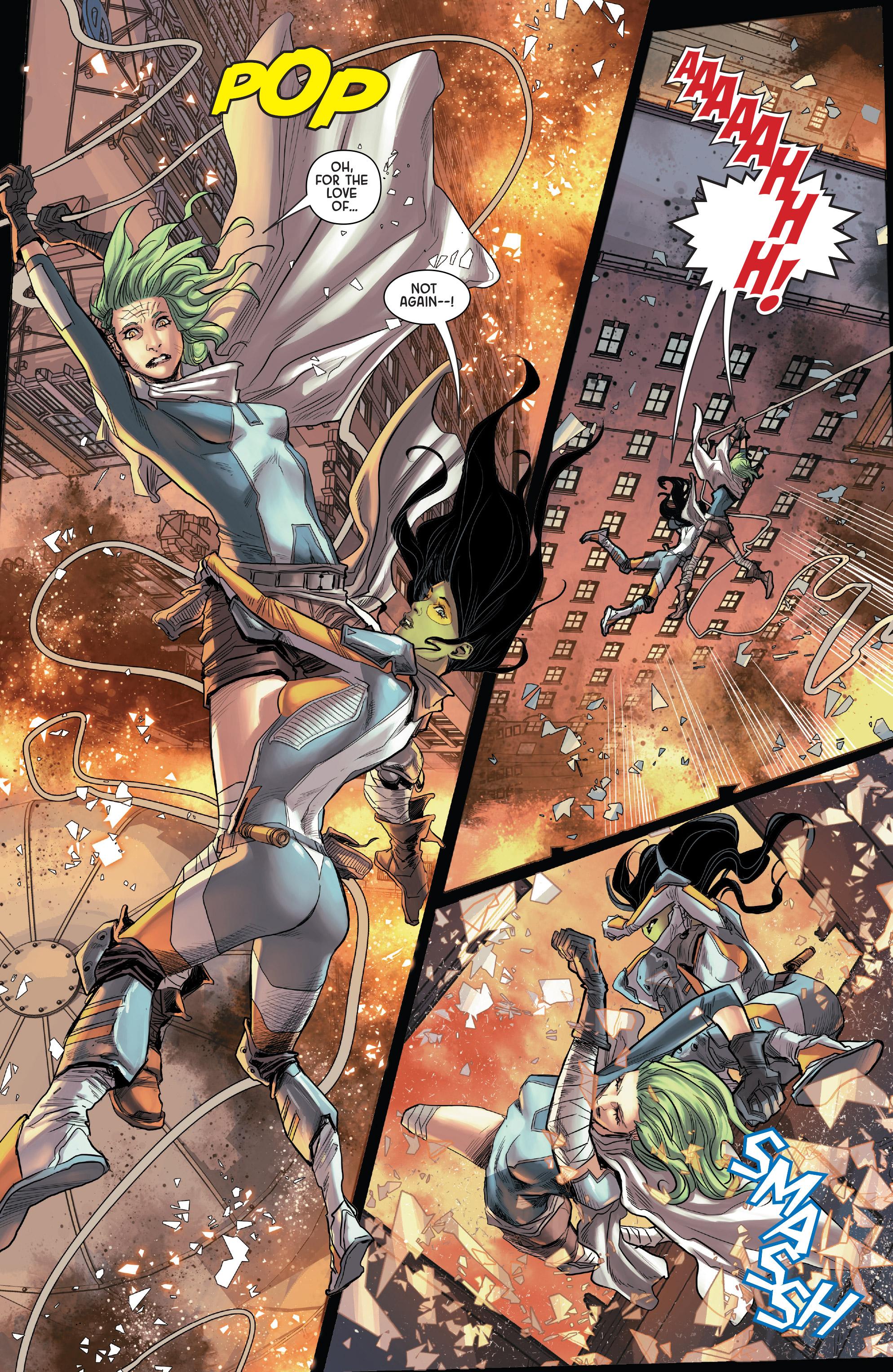Read online Gamora comic -  Issue #5 - 6