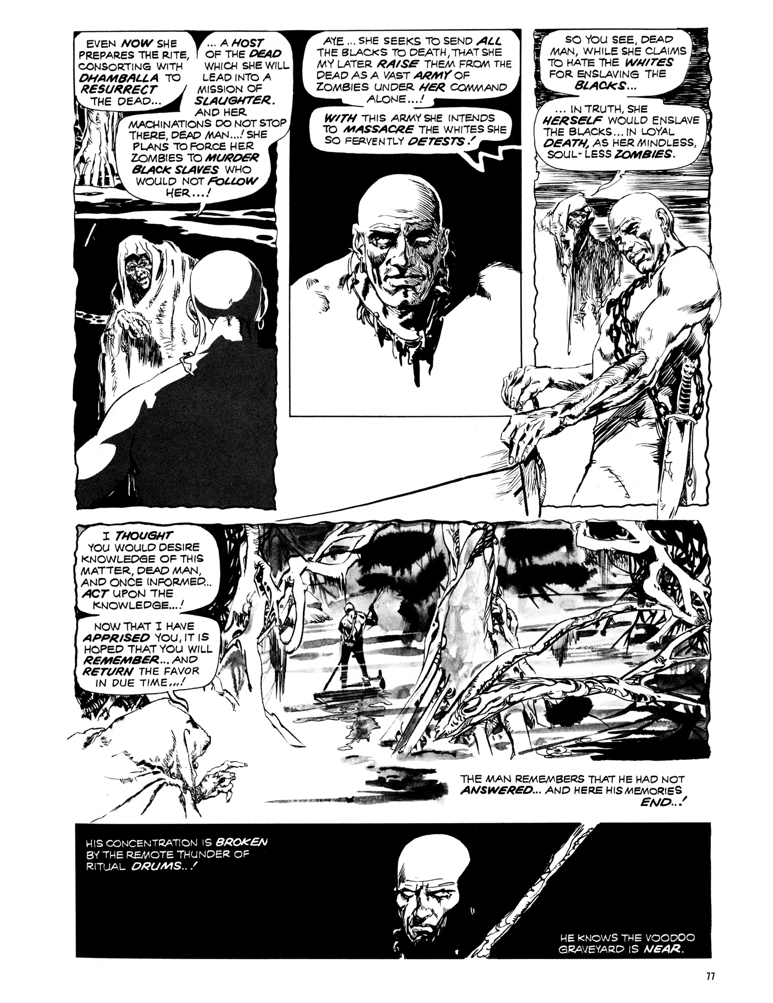 Read online Eerie Archives comic -  Issue # TPB 12 - 78