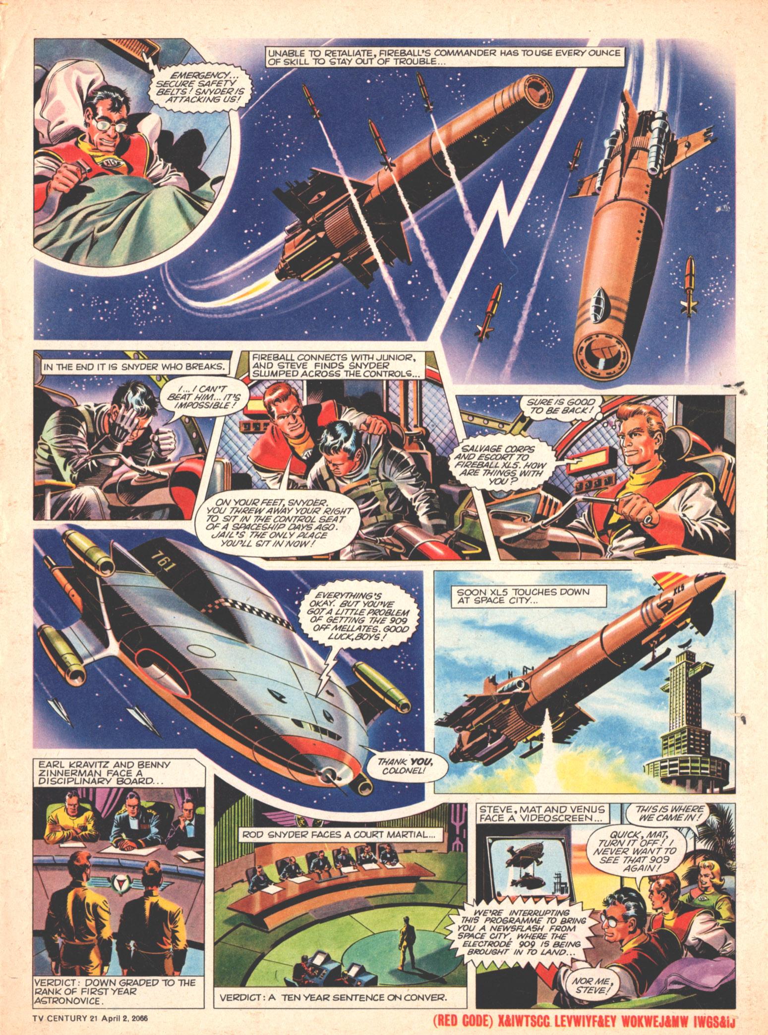 Read online TV Century 21 (TV 21) comic -  Issue #63 - 16