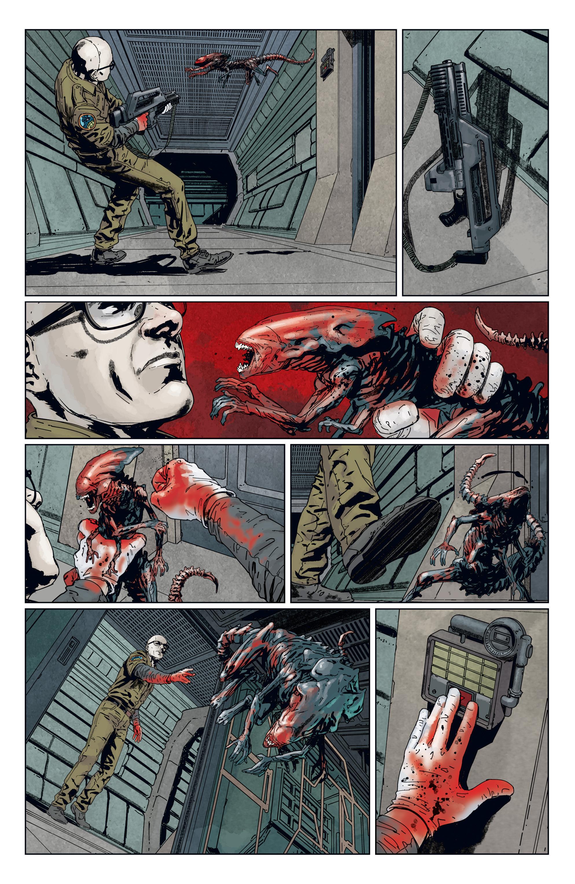 Read online Aliens: Defiance comic -  Issue #7 - 16