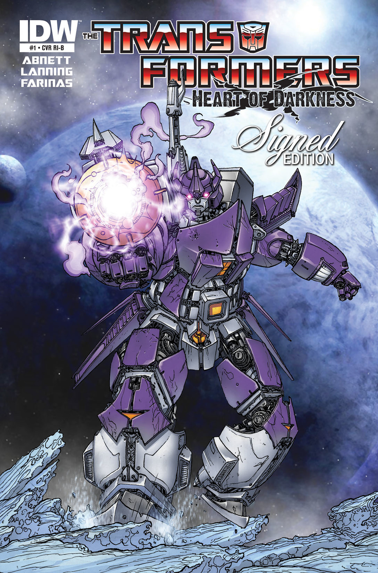 Read online Transformers: Heart of Darkness comic -  Issue #1 - 4