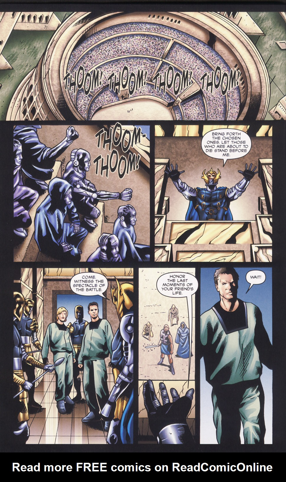Read online Stargate SG-1: Fall of Rome comic -  Issue #2 - 22