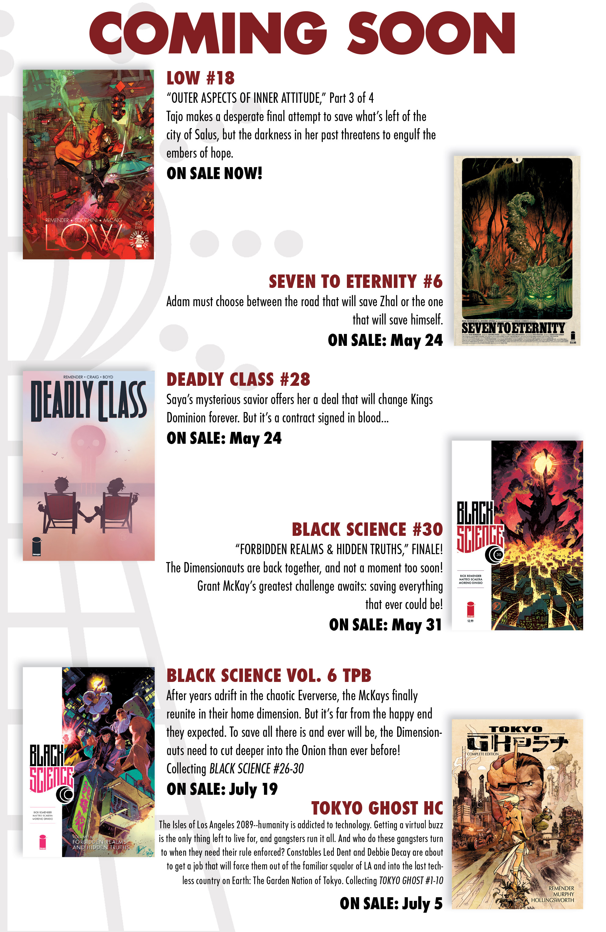 Read online Deadly Class comic -  Issue #28 - 25