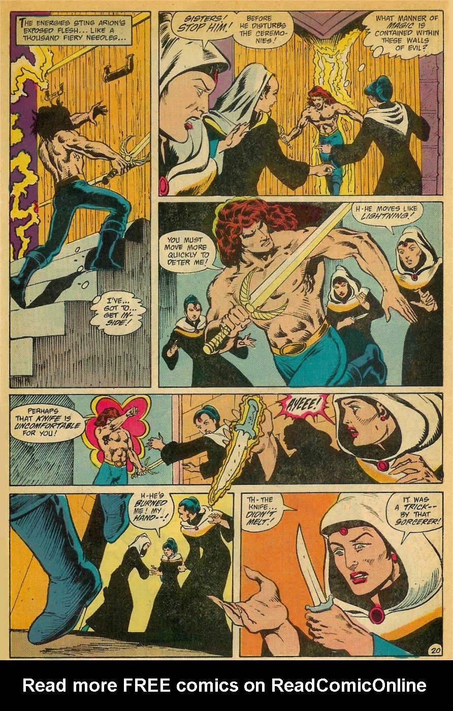 Read online Arion, Lord of Atlantis comic -  Issue #26 - 21