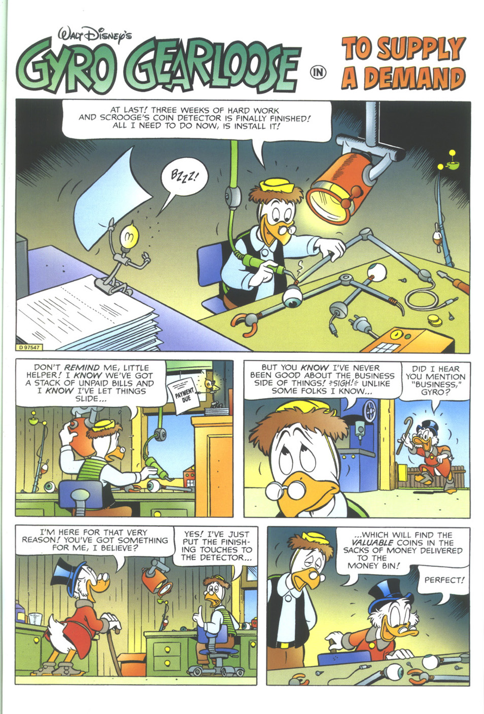 Read online Uncle Scrooge (1953) comic -  Issue #349 - 45