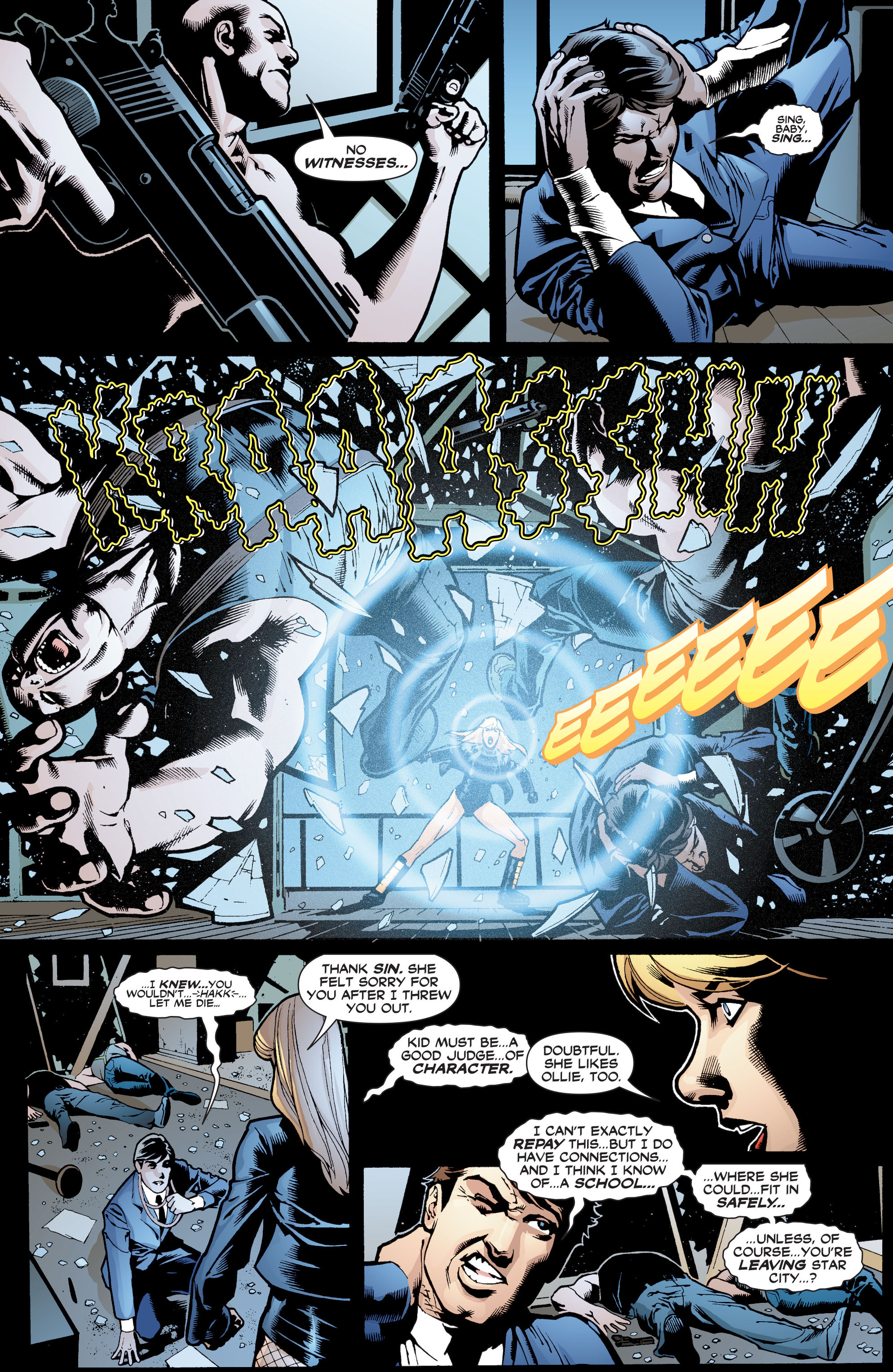 Read online Black Canary (2007) comic -  Issue #1 - 20