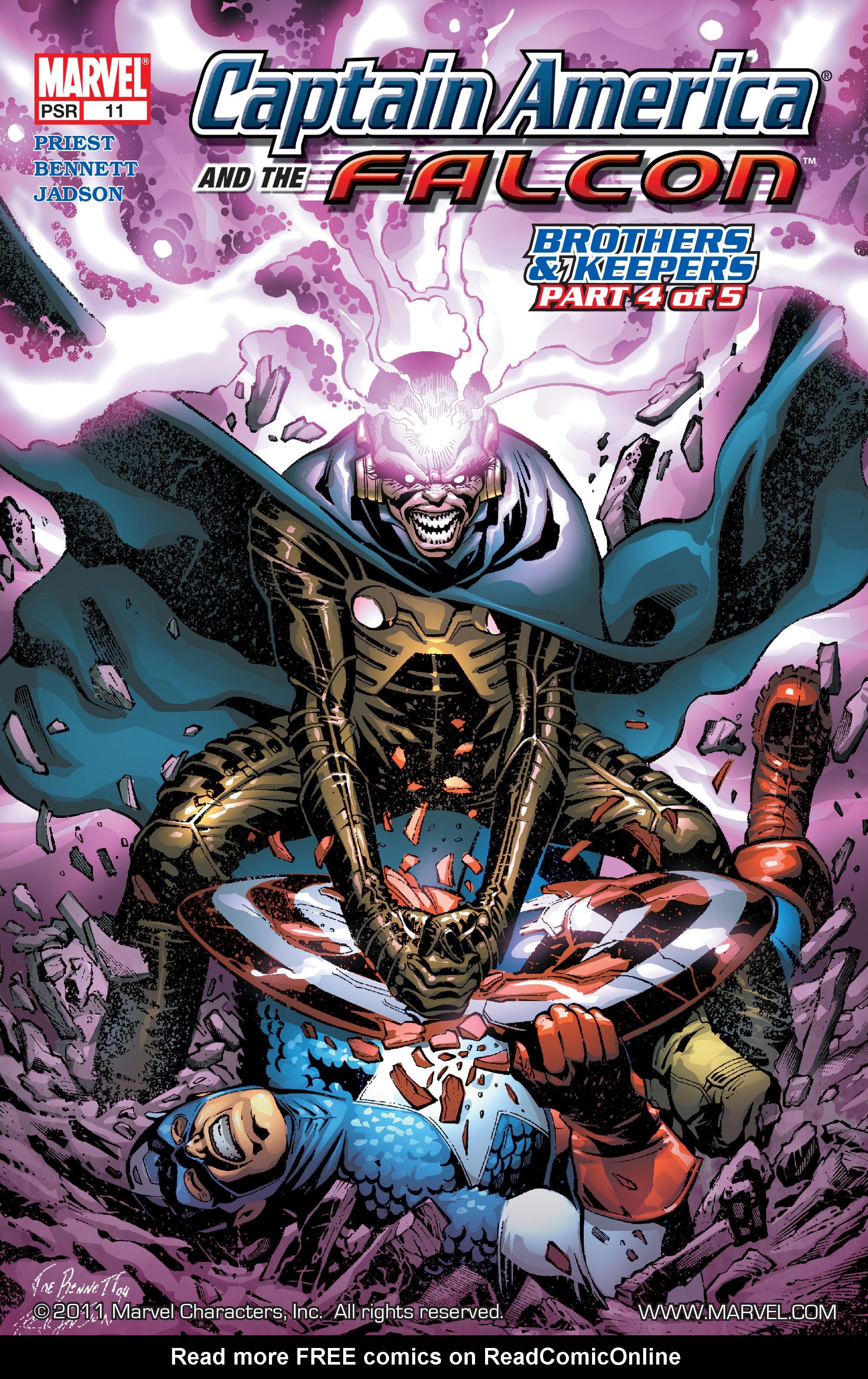 Captain America & the Falcon 11 Page 1