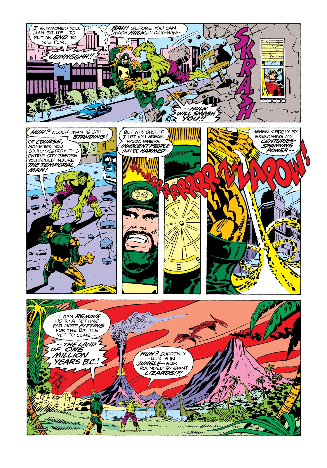 Read online Marvel Masterworks: The Incredible Hulk comic -  Issue # TPB 12 (Part 2) - 87