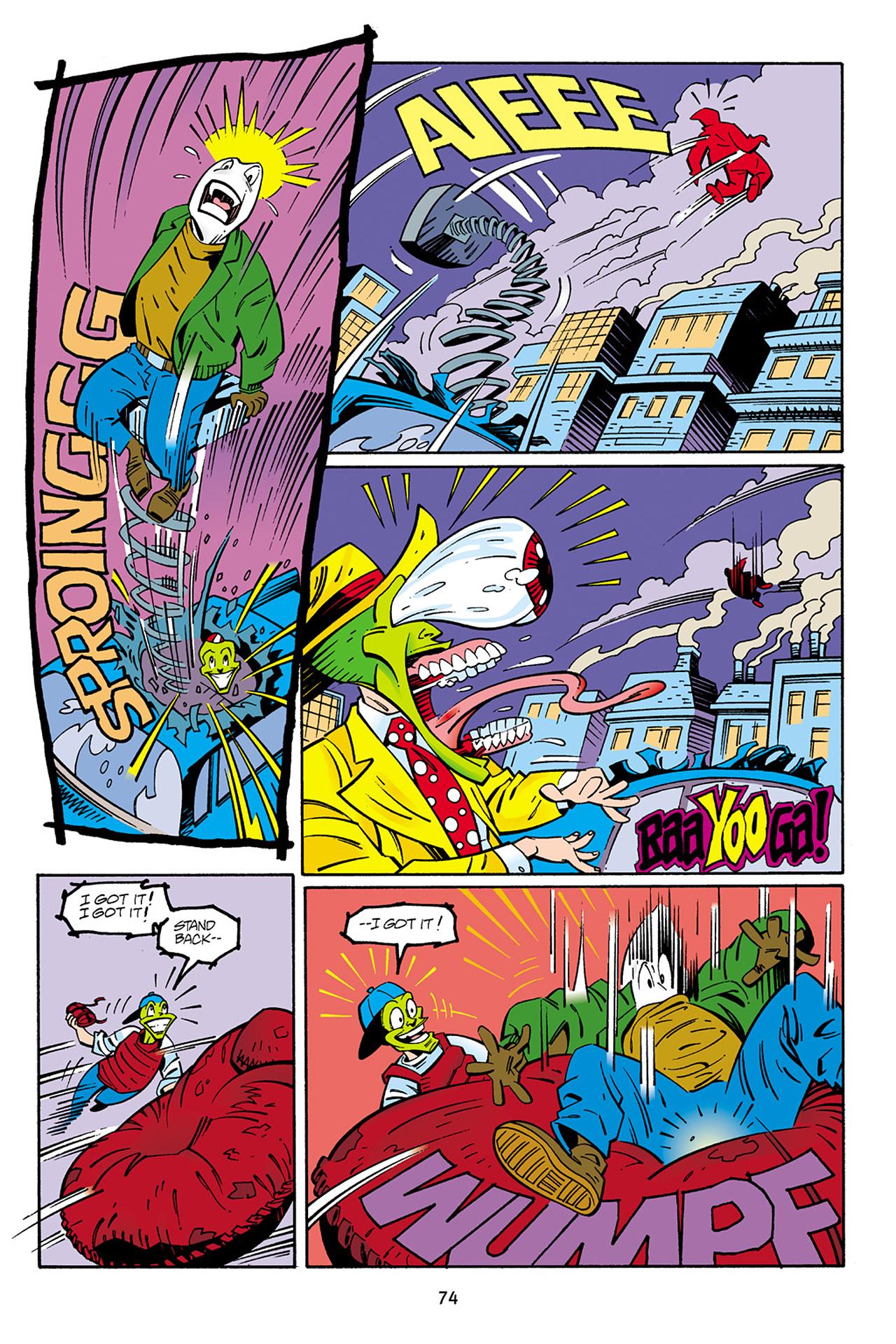 Read online Adventures Of The Mask Omnibus comic -  Issue #Adventures Of The Mask Omnibus Full - 74
