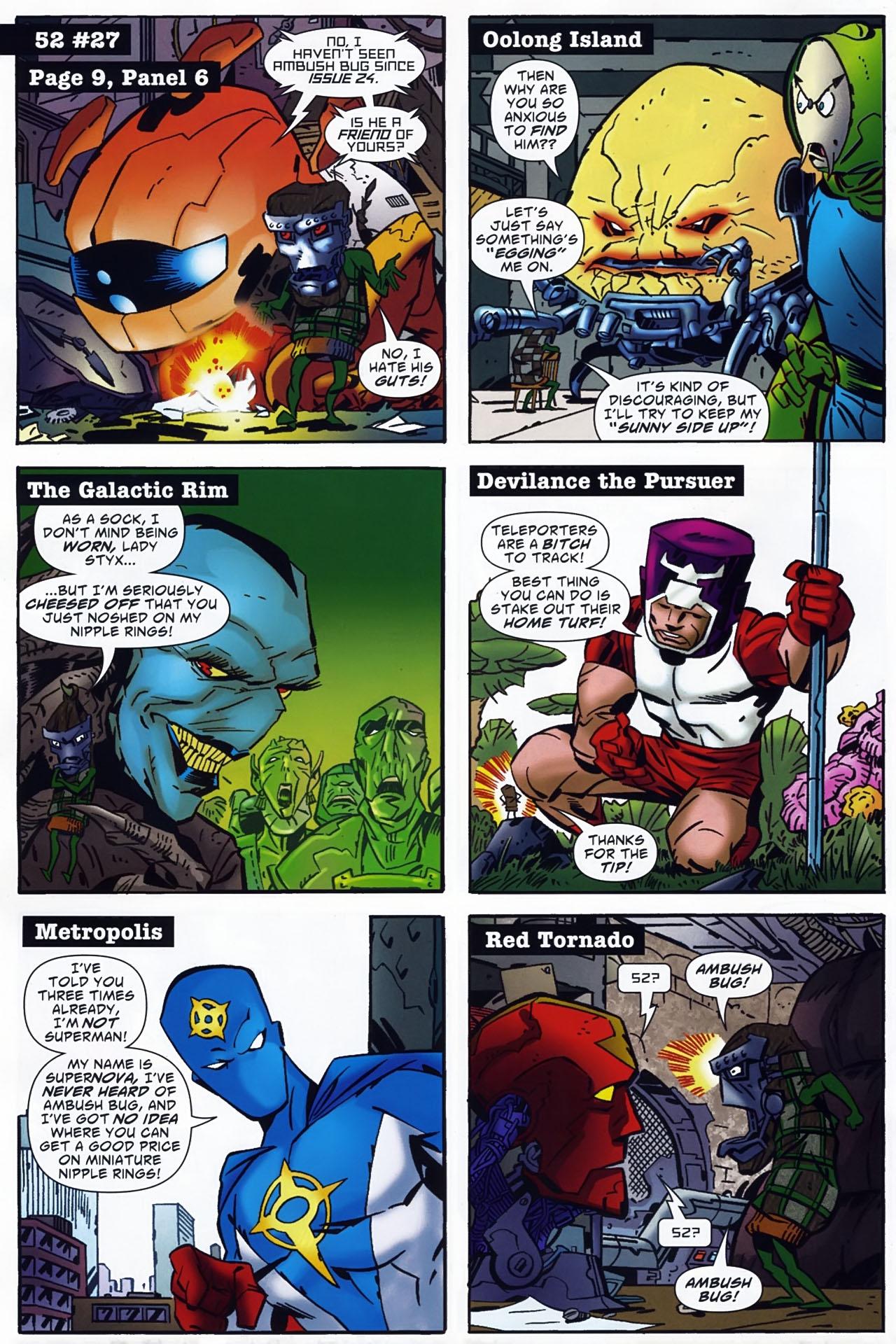 Read online Ambush Bug: Year None comic -  Issue #4 - 12
