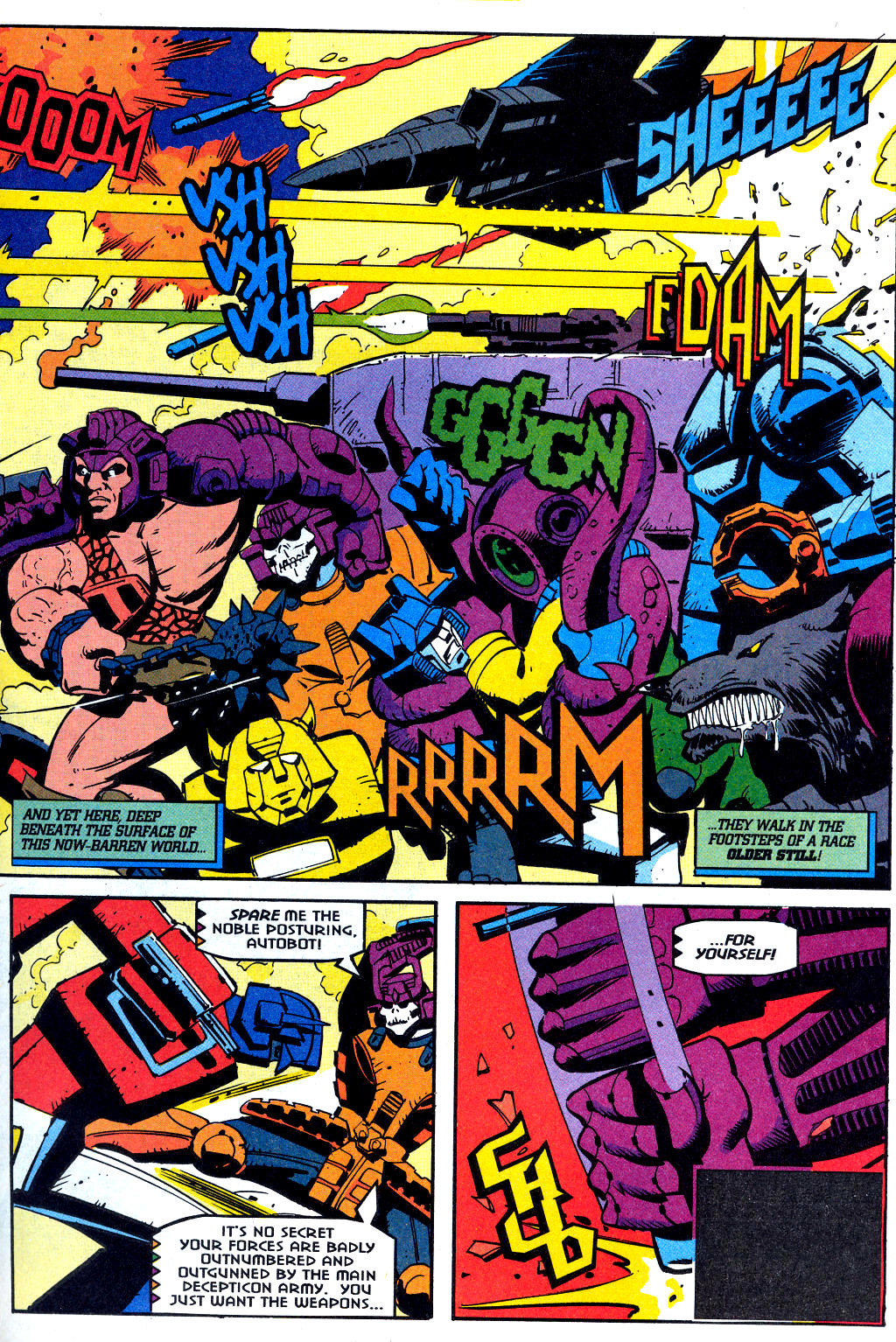 Read online Transformers: Generation 2 comic -  Issue #2 - 19