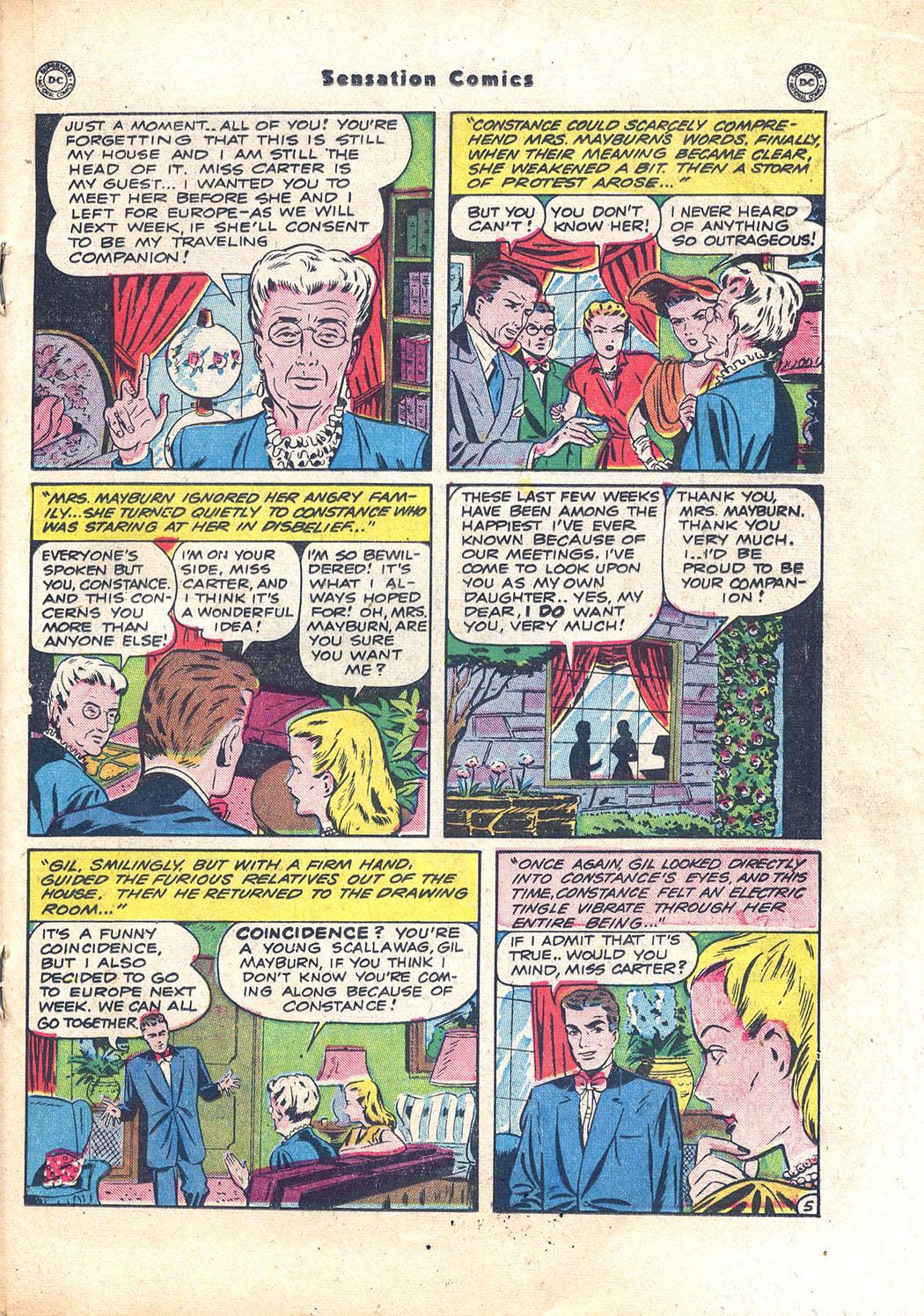 Read online Sensation (Mystery) Comics comic -  Issue #94 - 27