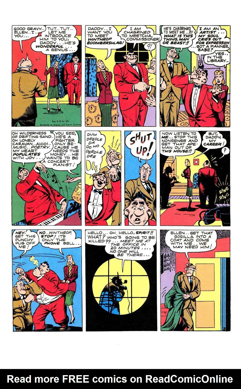 Read online Will Eisner's The Spirit Archives comic -  Issue # TPB 2 (Part 1) - 91