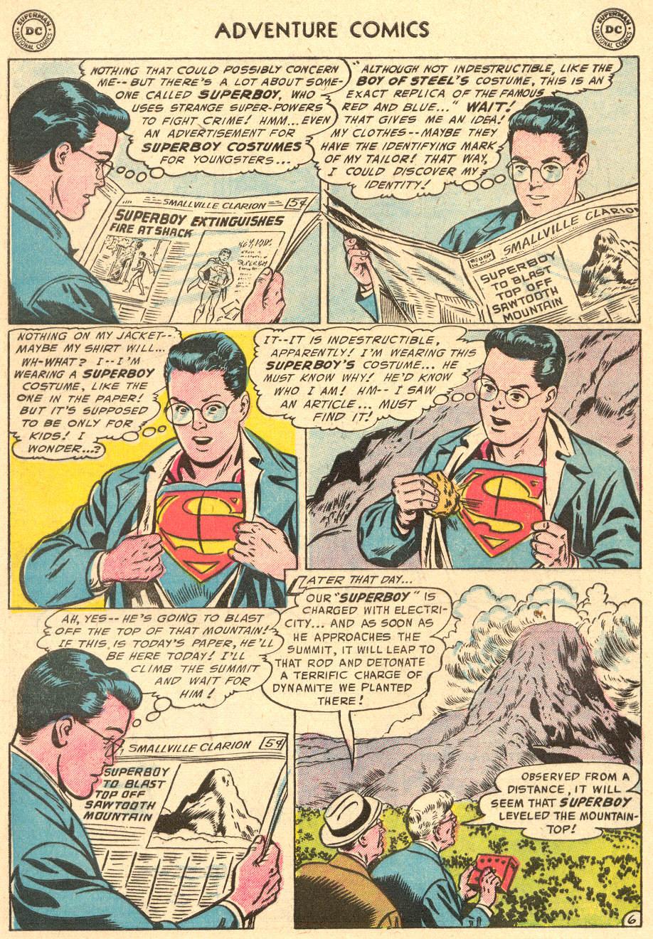 Read online Adventure Comics (1938) comic -  Issue #212 - 8