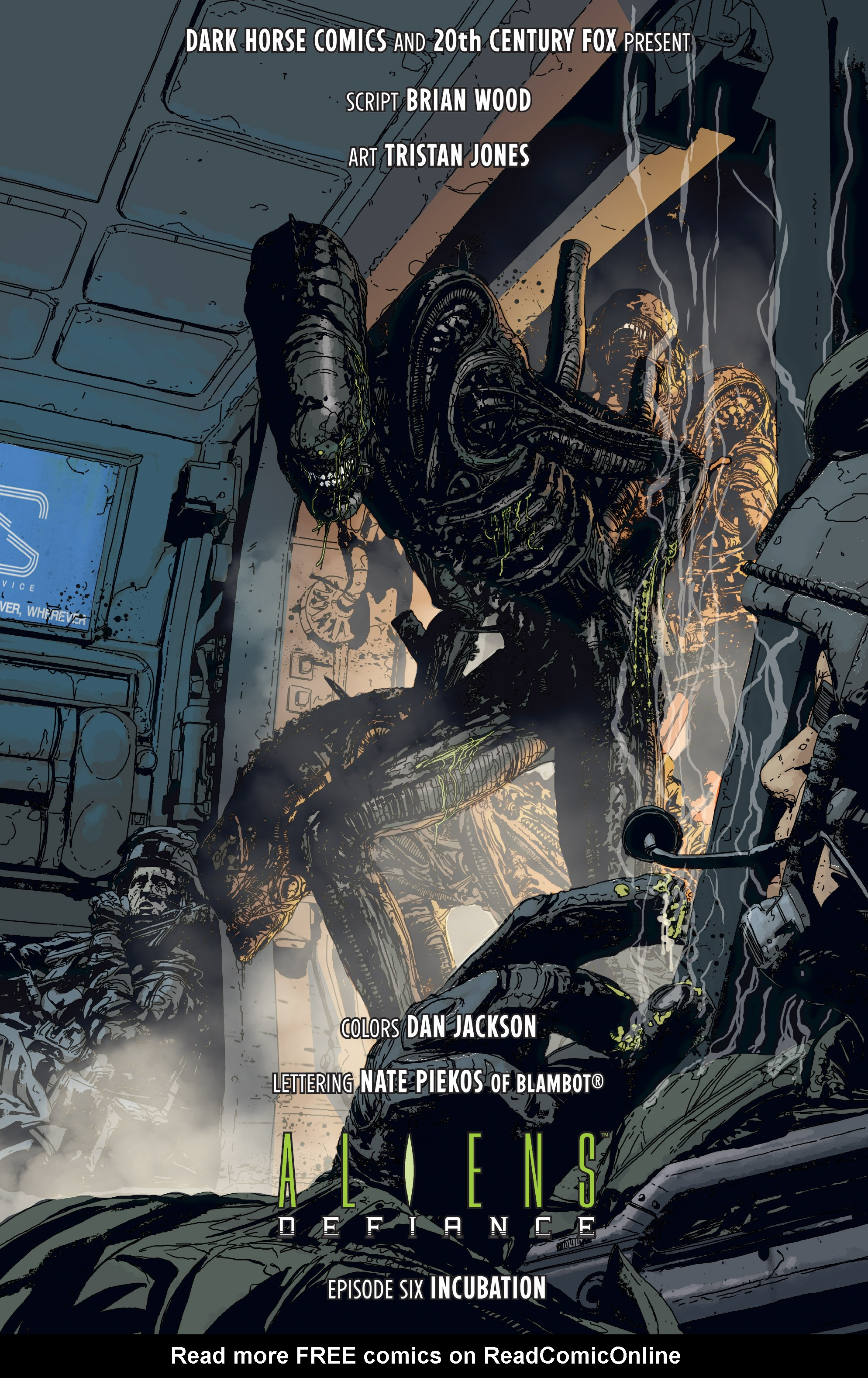Read online Aliens: Defiance comic -  Issue #6 - 7