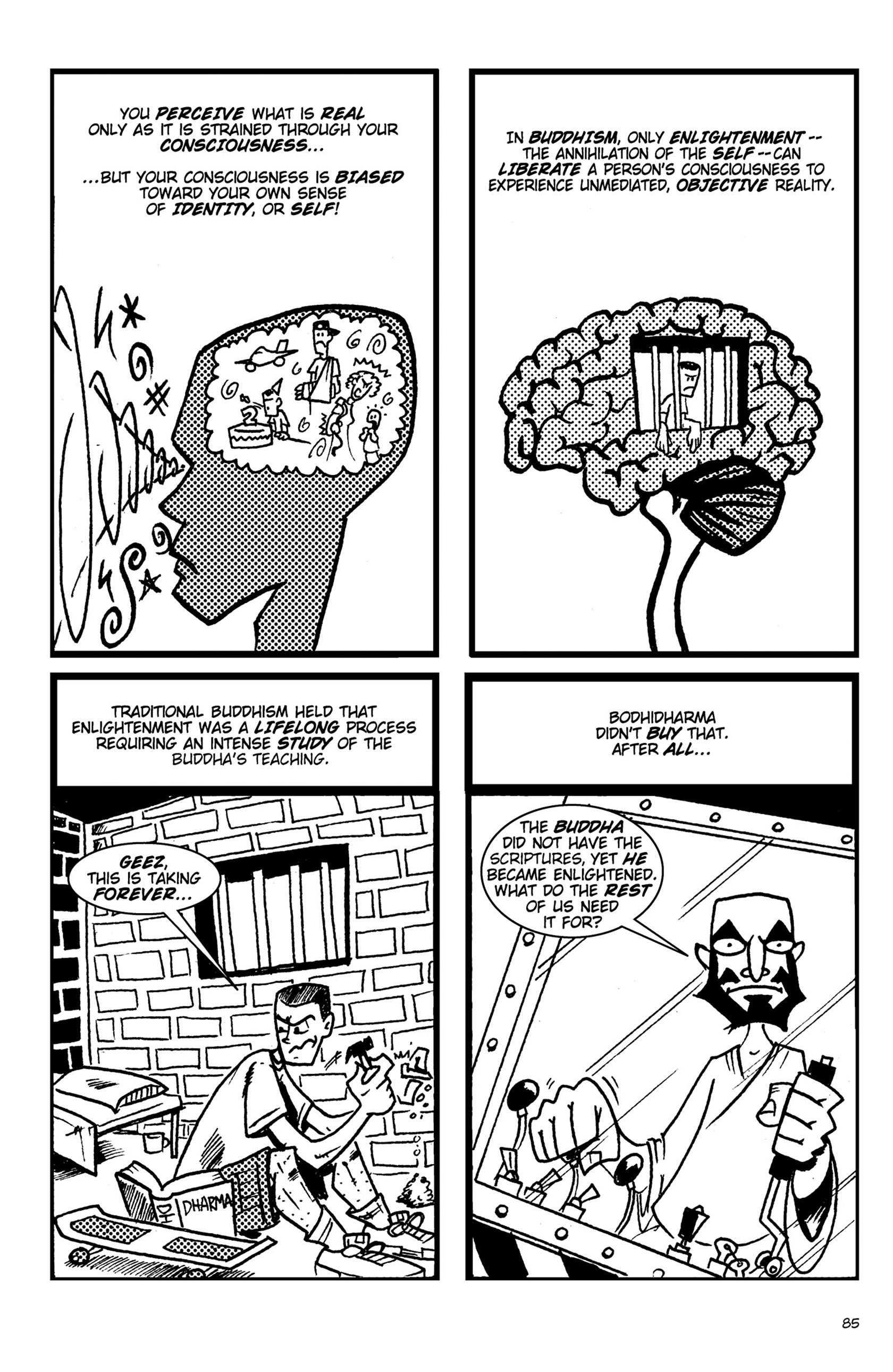Read online Action Philosophers! comic -  Issue #Action Philosophers! TPB (Part 1) - 85