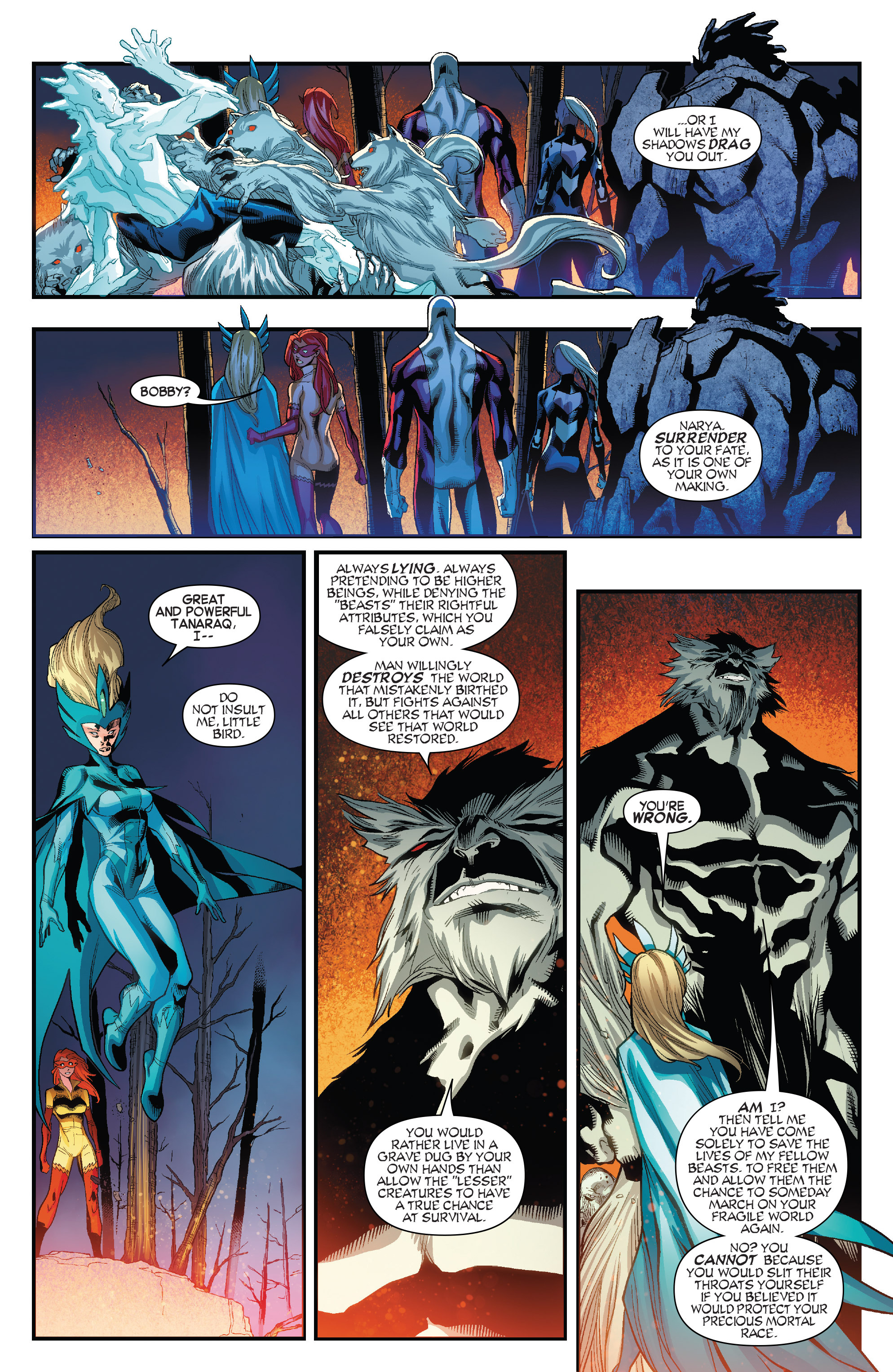 Read online Amazing X-Men (2014) comic -  Issue #11 - 19
