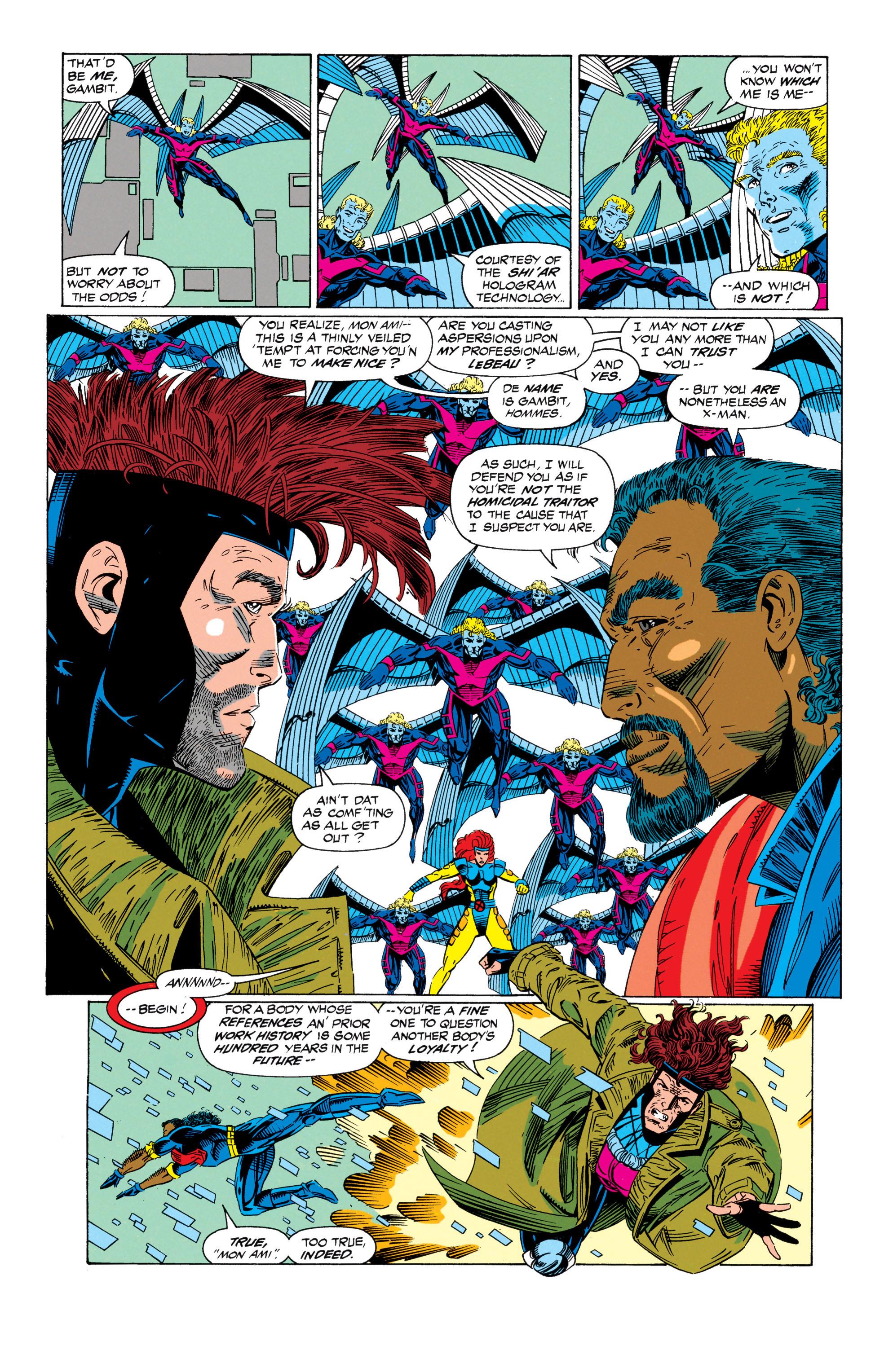Read online Uncanny X-Men (1963) comic -  Issue #298 - 7