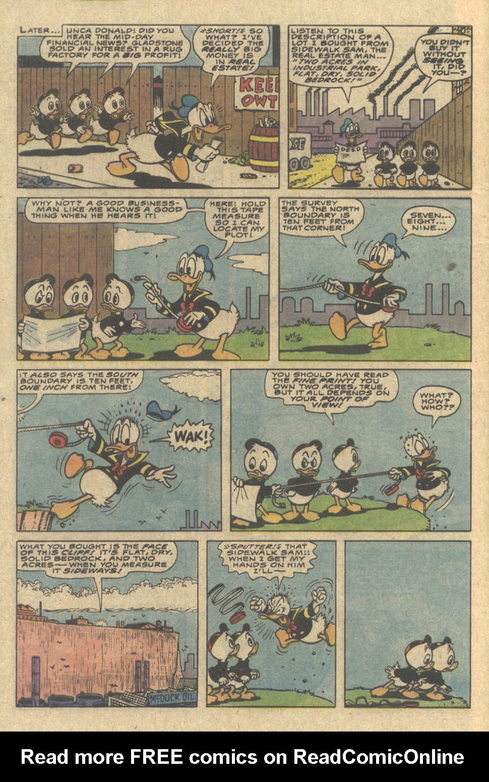 Read online Uncle Scrooge (1953) comic -  Issue #220 - 8