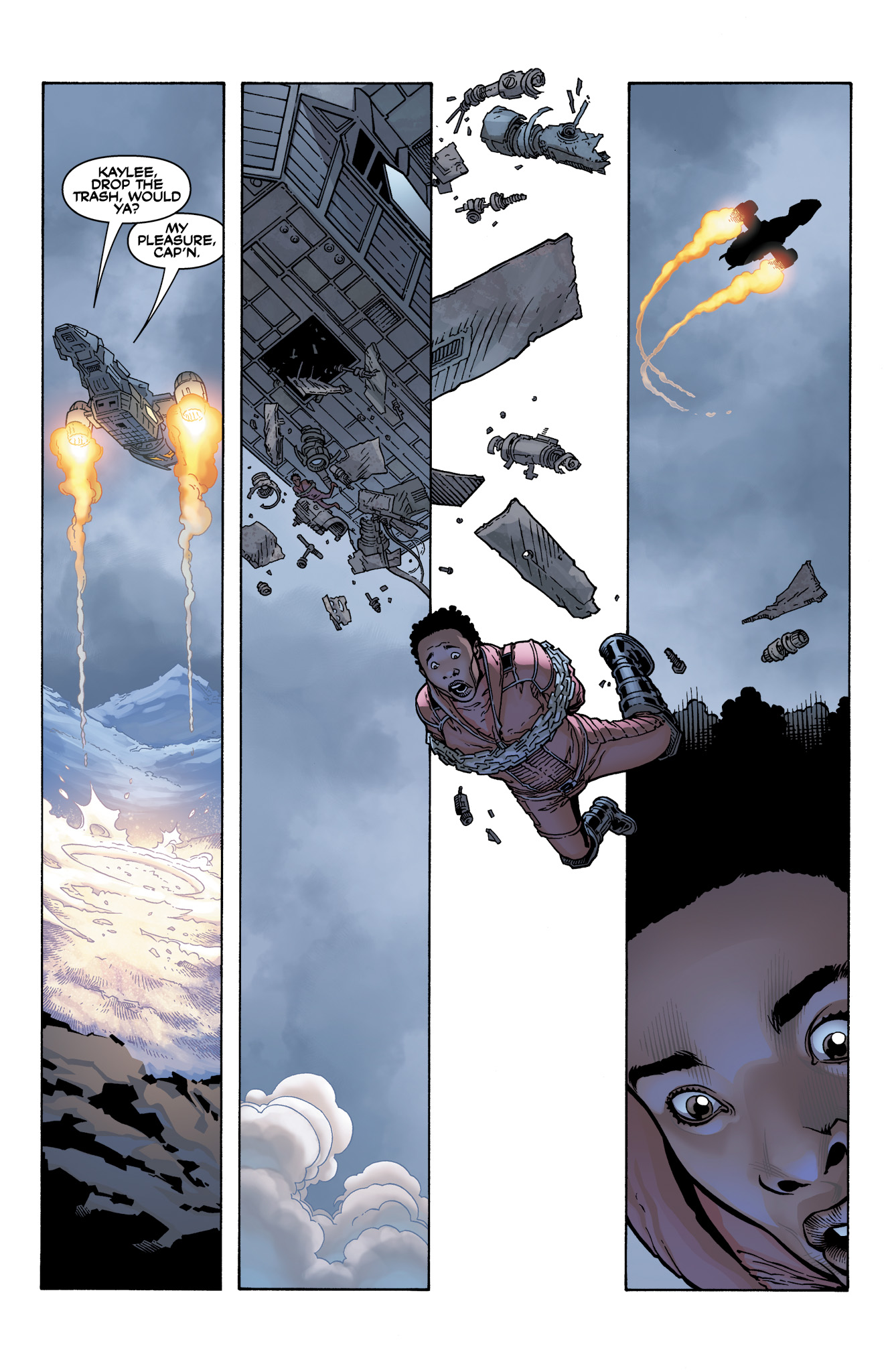 Read online Serenity: Firefly Class 03-K64  Leaves on the Wind comic -  Issue #4 - 6
