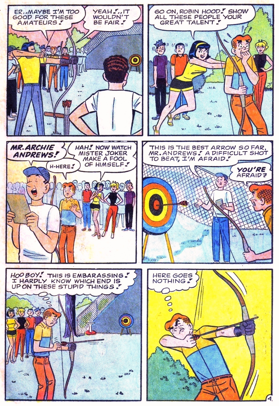 Read online Archie (1960) comic -  Issue #168 - 23