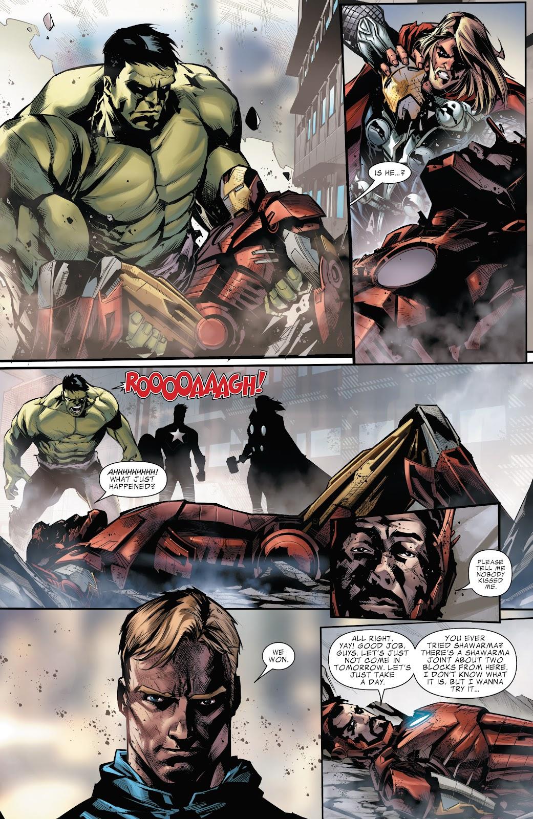 Read online Marvel's The Avengers comic -  Issue #2 - 19