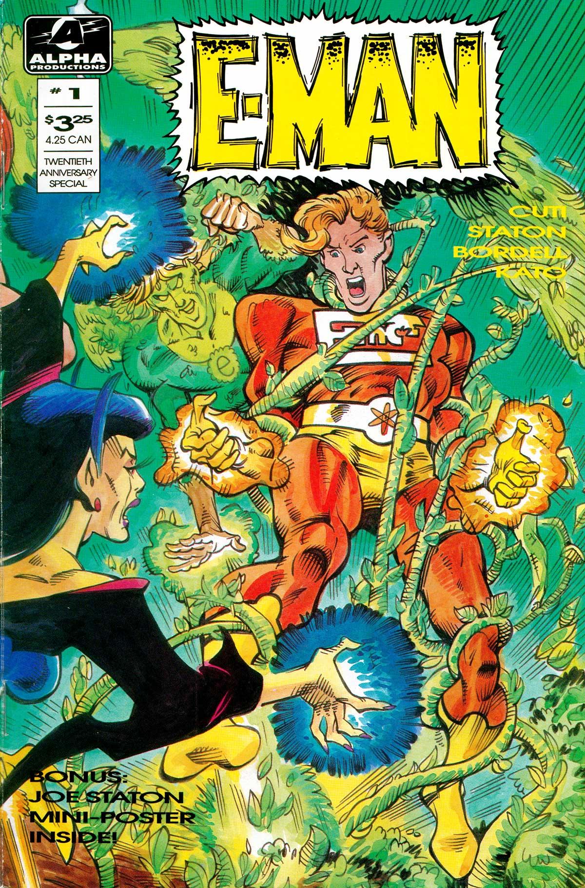 Read online E-man (1993) comic -  Issue # Full - 1