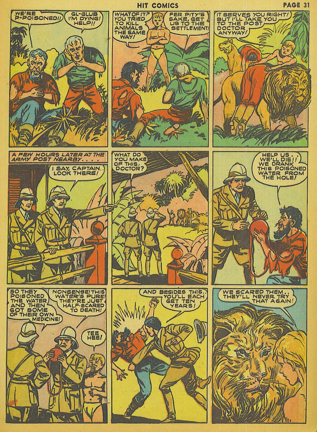 Read online Hit Comics comic -  Issue #13 - 33
