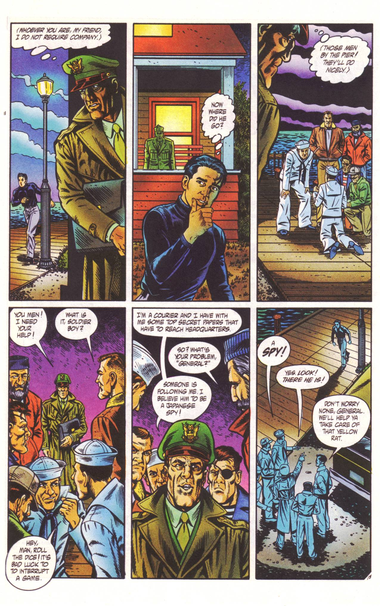 Read online Sting of The Green Hornet comic -  Issue #2 - 16