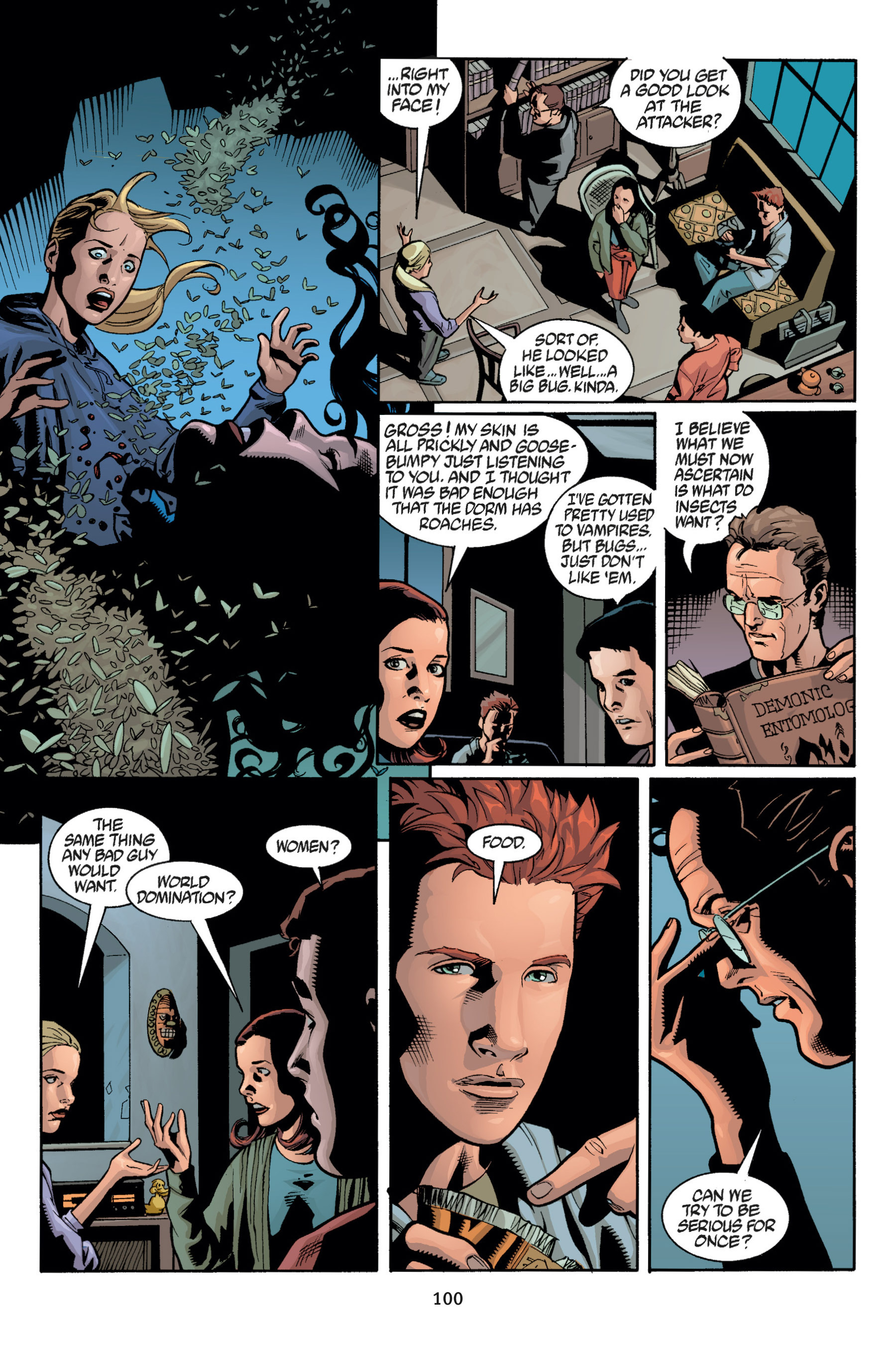Read online Buffy the Vampire Slayer: Omnibus comic -  Issue # TPB 5 - 101