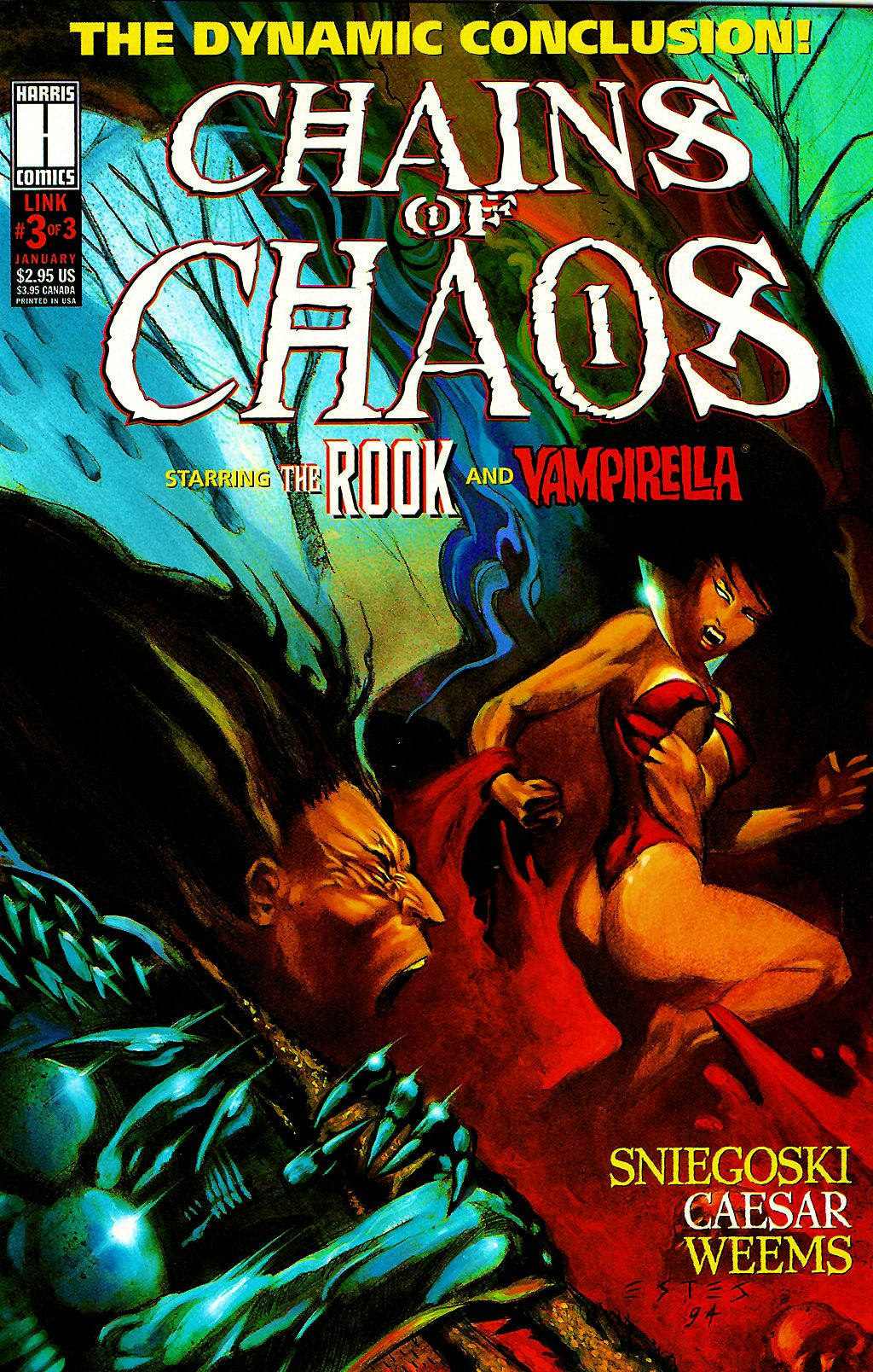 Read online Chains of Chaos comic -  Issue #3 - 1