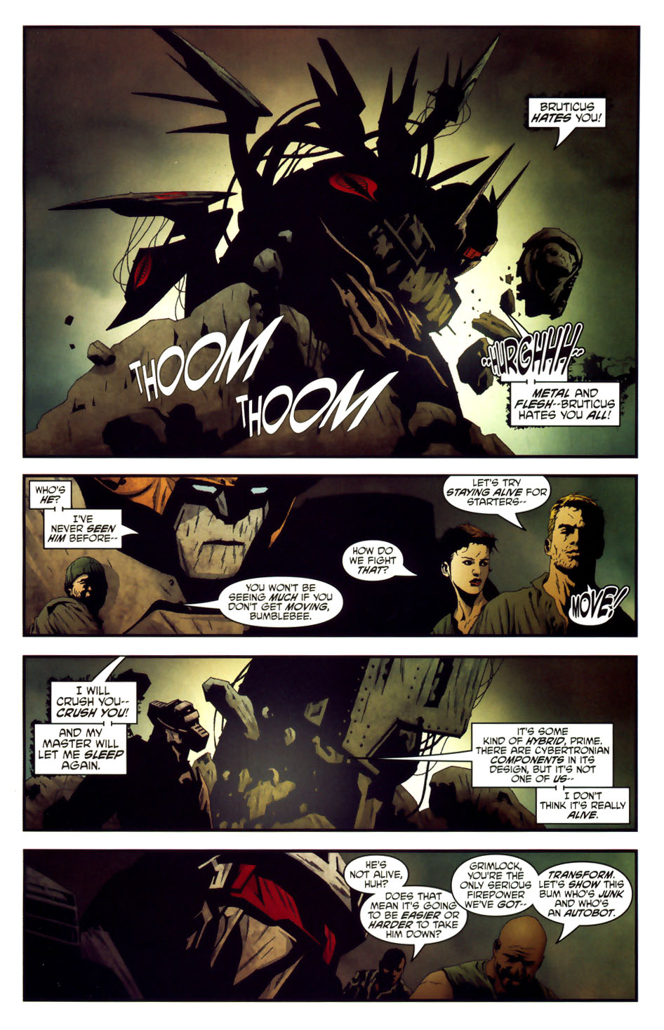 Read online Transformers/G.I. Joe comic -  Issue #6 - 18