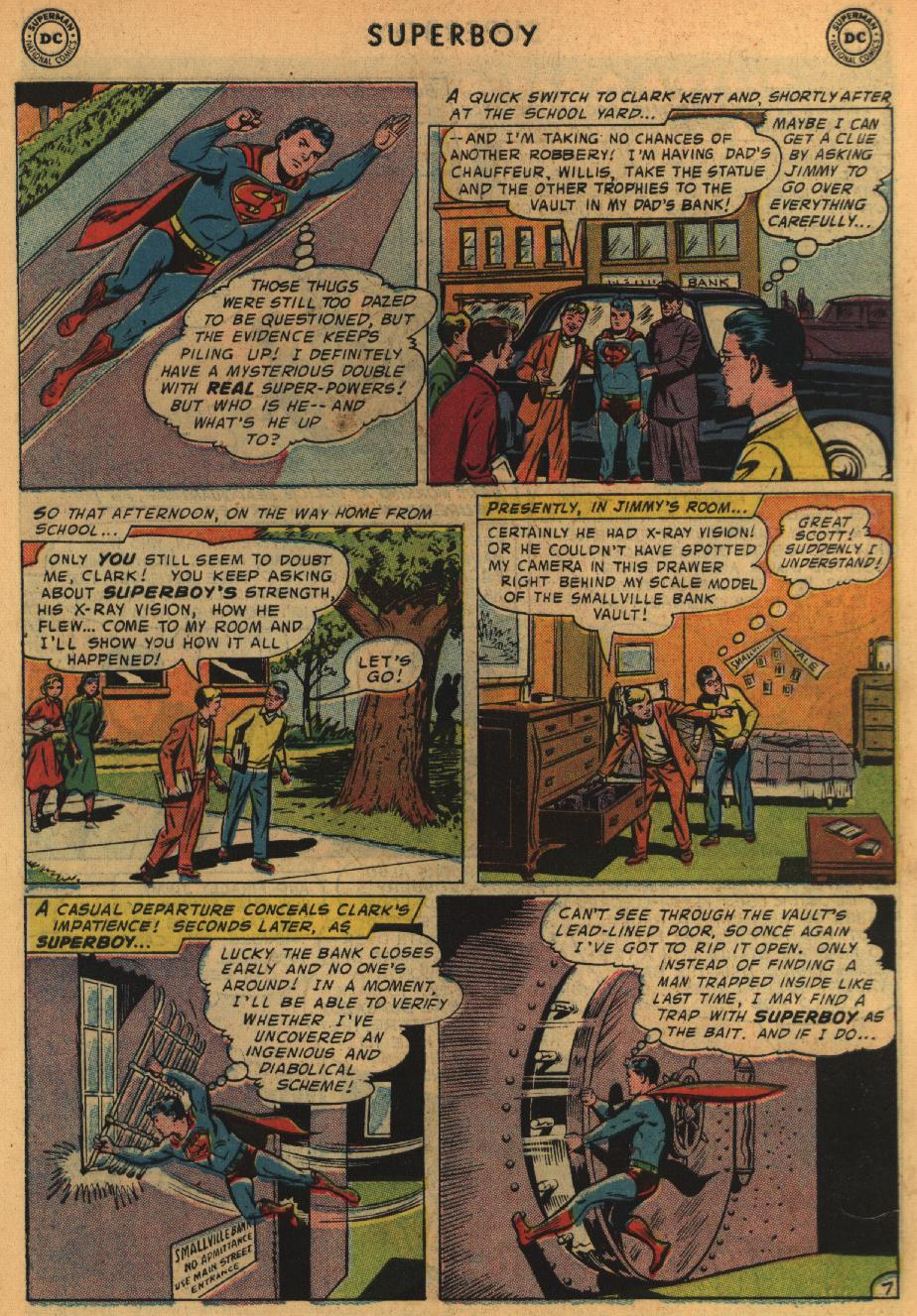 Superboy (1949) issue 64 - Page 8