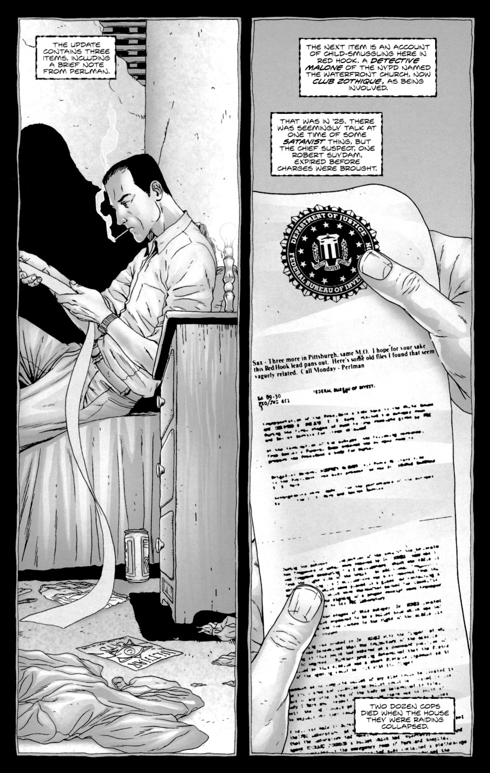 Read online Alan Moore's The Courtyard comic -  Issue #1 - 24