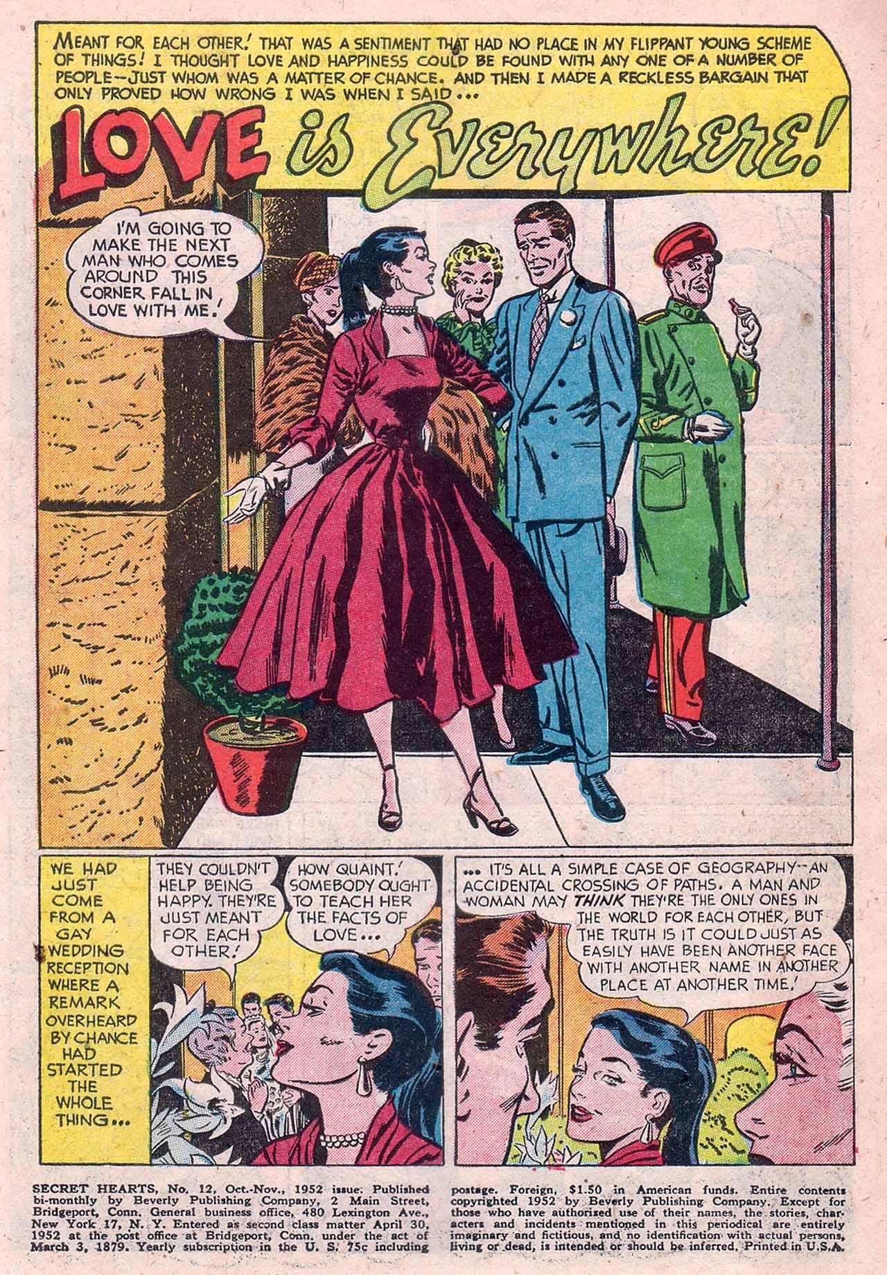 Read online Secret Hearts comic -  Issue #12 - 3