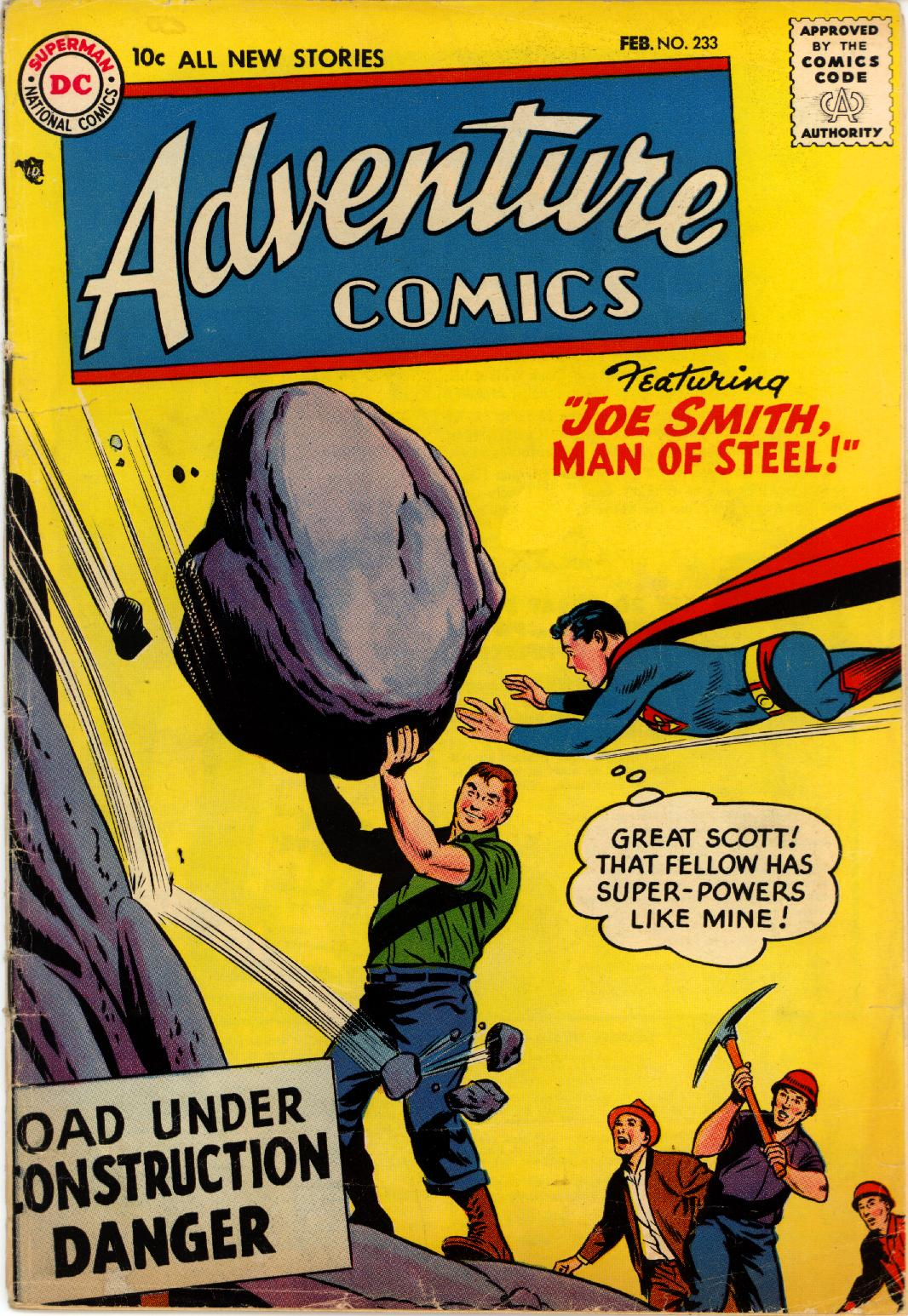 Read online Adventure Comics (1938) comic -  Issue #233 - 1