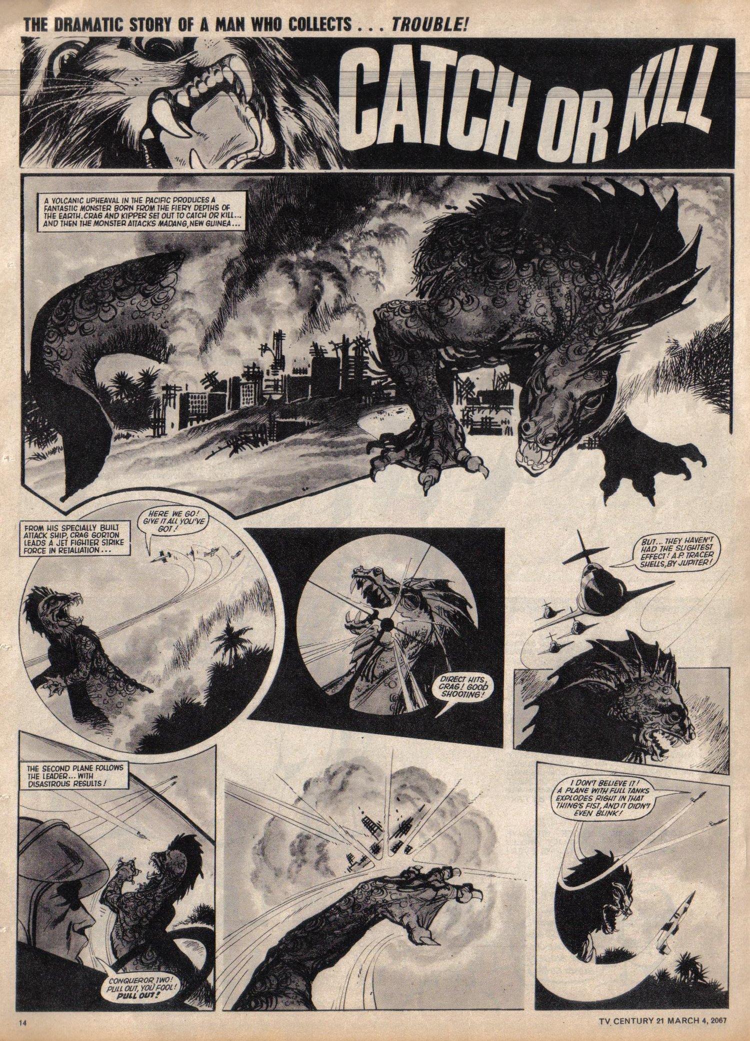 Read online TV Century 21 (TV 21) comic -  Issue #111 - 13
