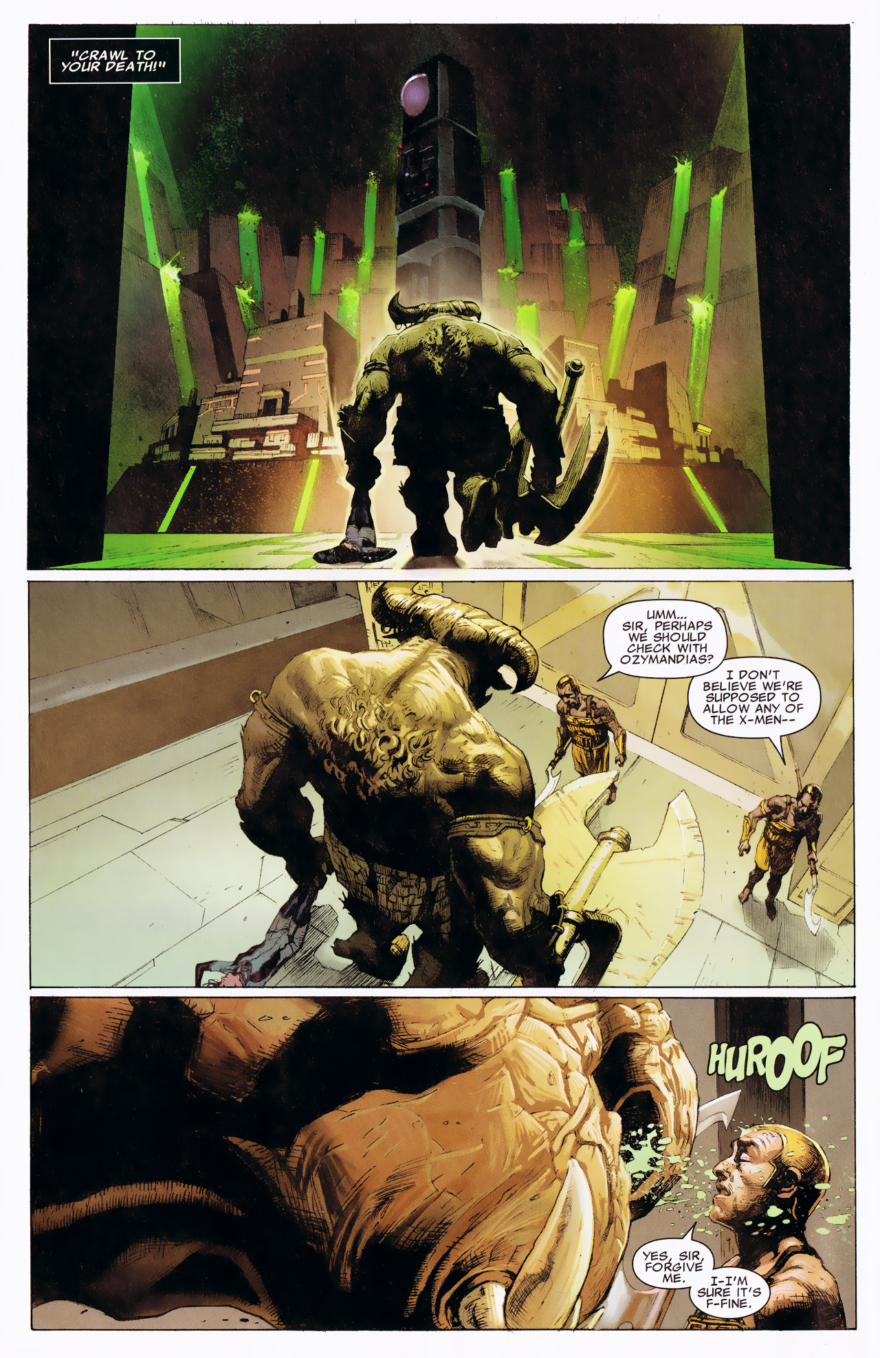 Read online Uncanny X-Force: The Apocalypse Solution comic -  Issue # Full - 66