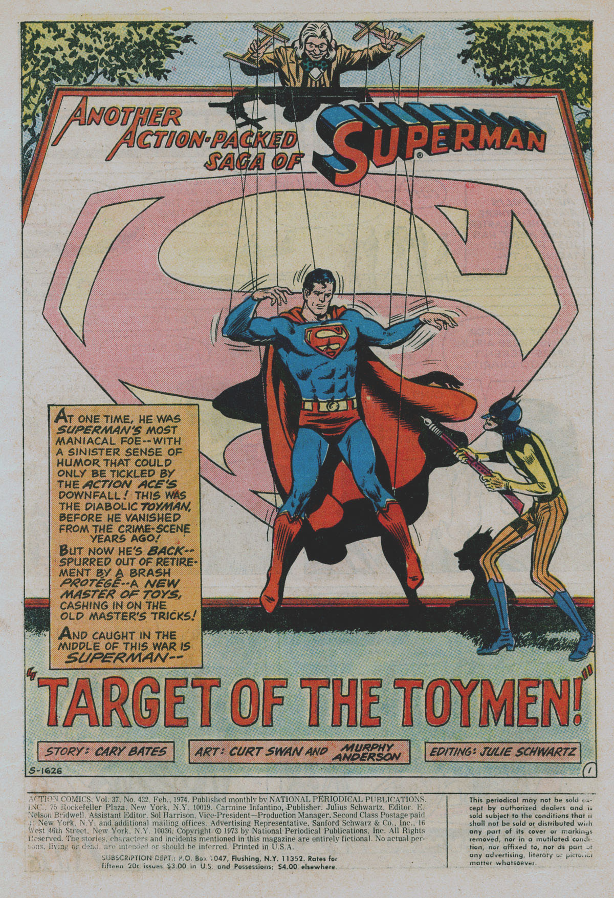 Read online Action Comics (1938) comic -  Issue #432 - 3