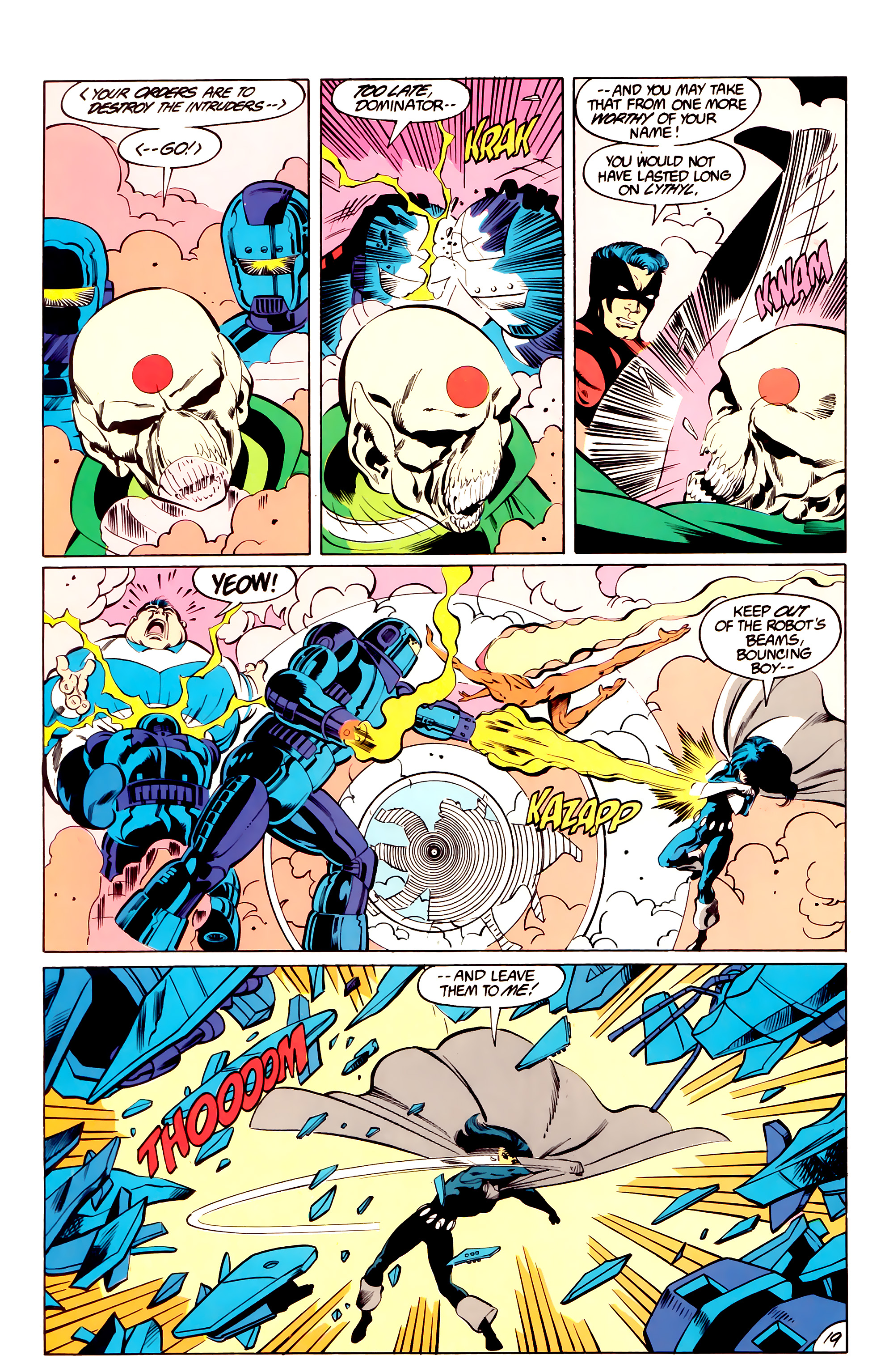 Legion of Super-Heroes (1984) _Annual_3 Page 19