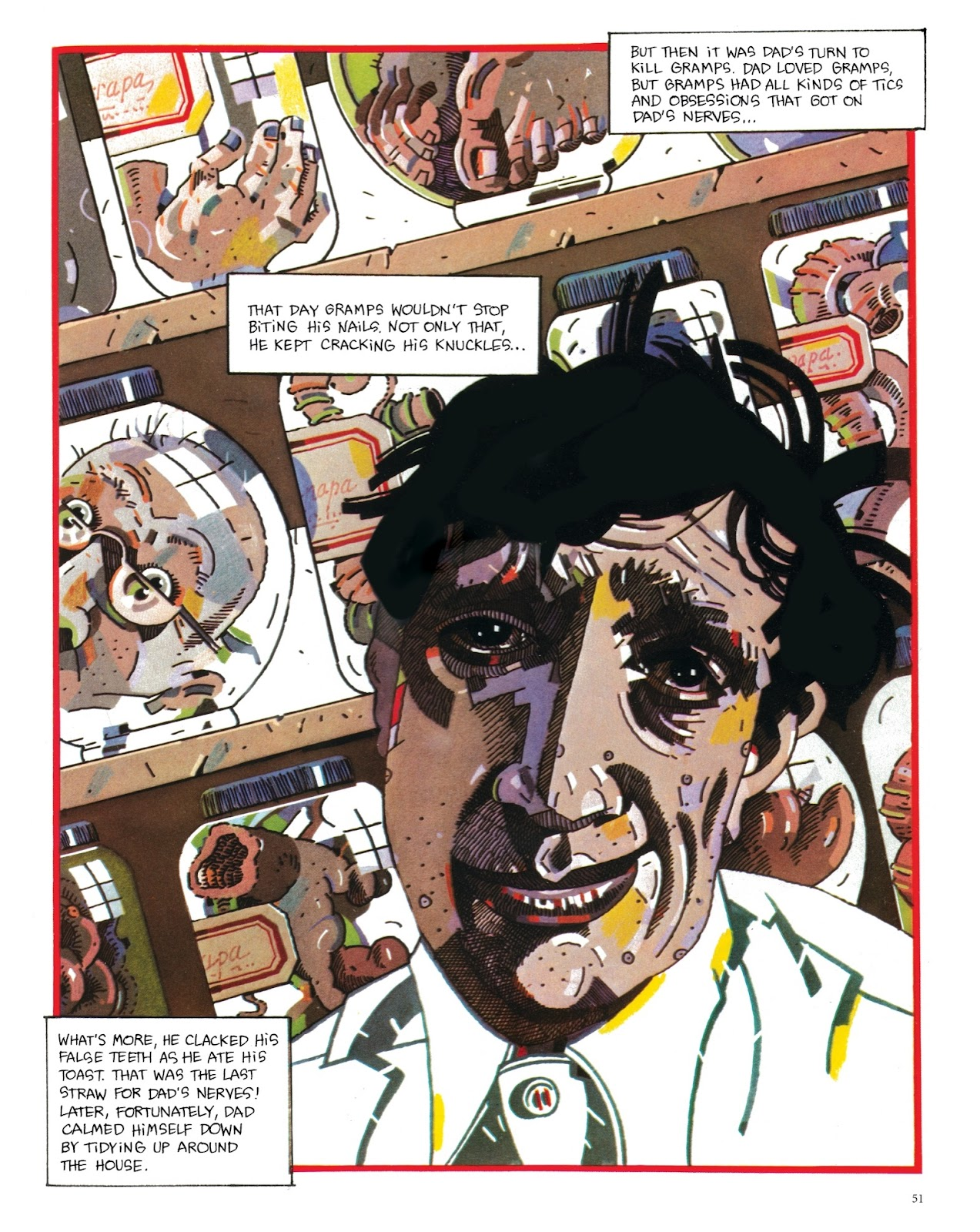 Read online The Green Hand and Other Stories comic -  Issue # TPB - 50