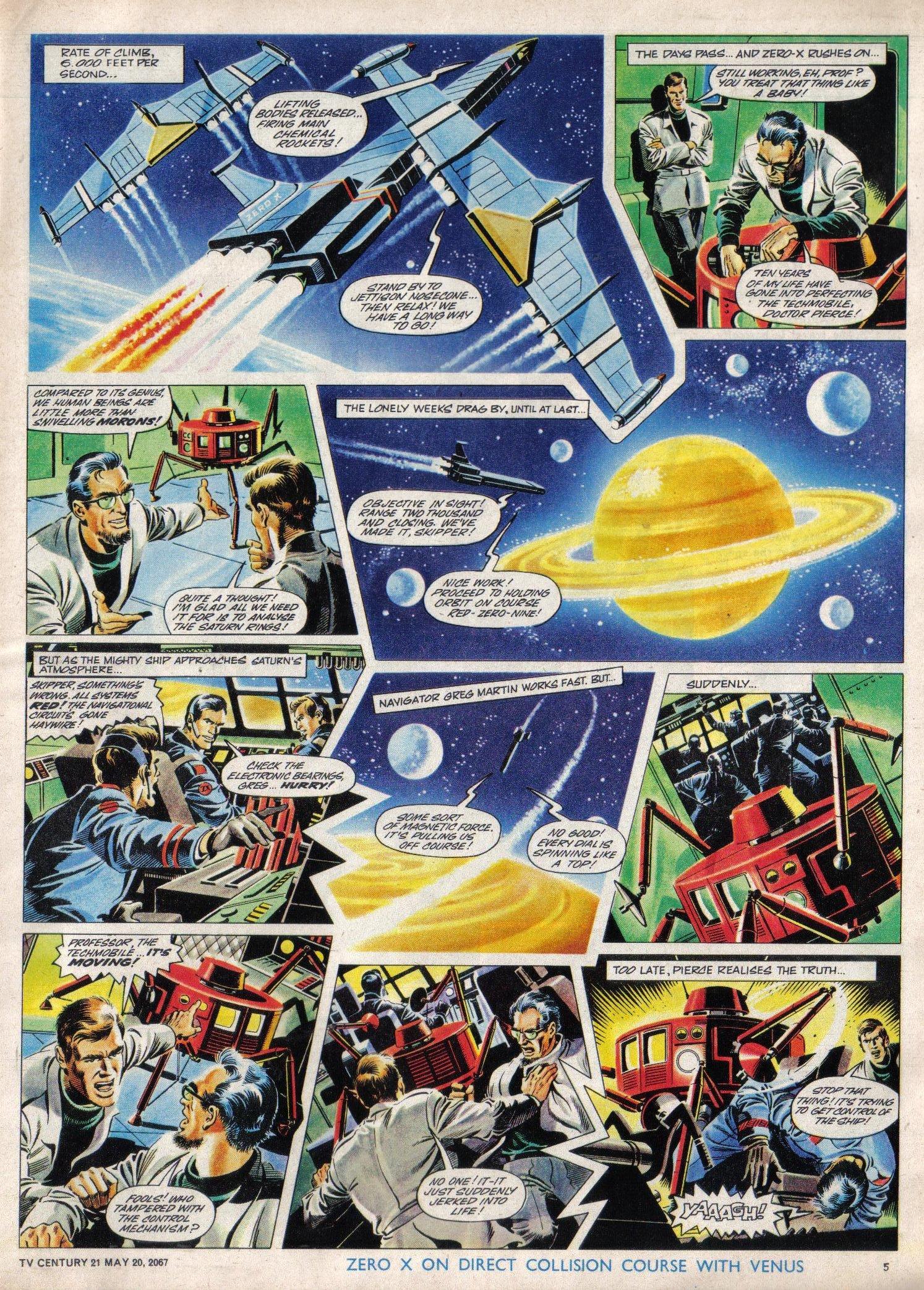 Read online TV Century 21 (TV 21) comic -  Issue #122 - 5