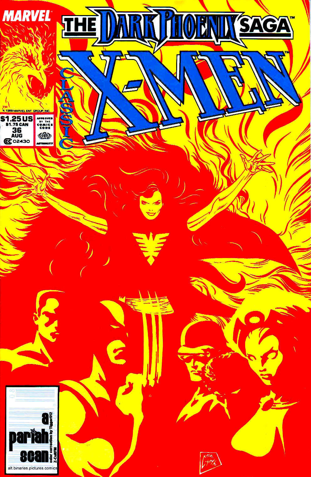 Classic X-Men 36 Page 1