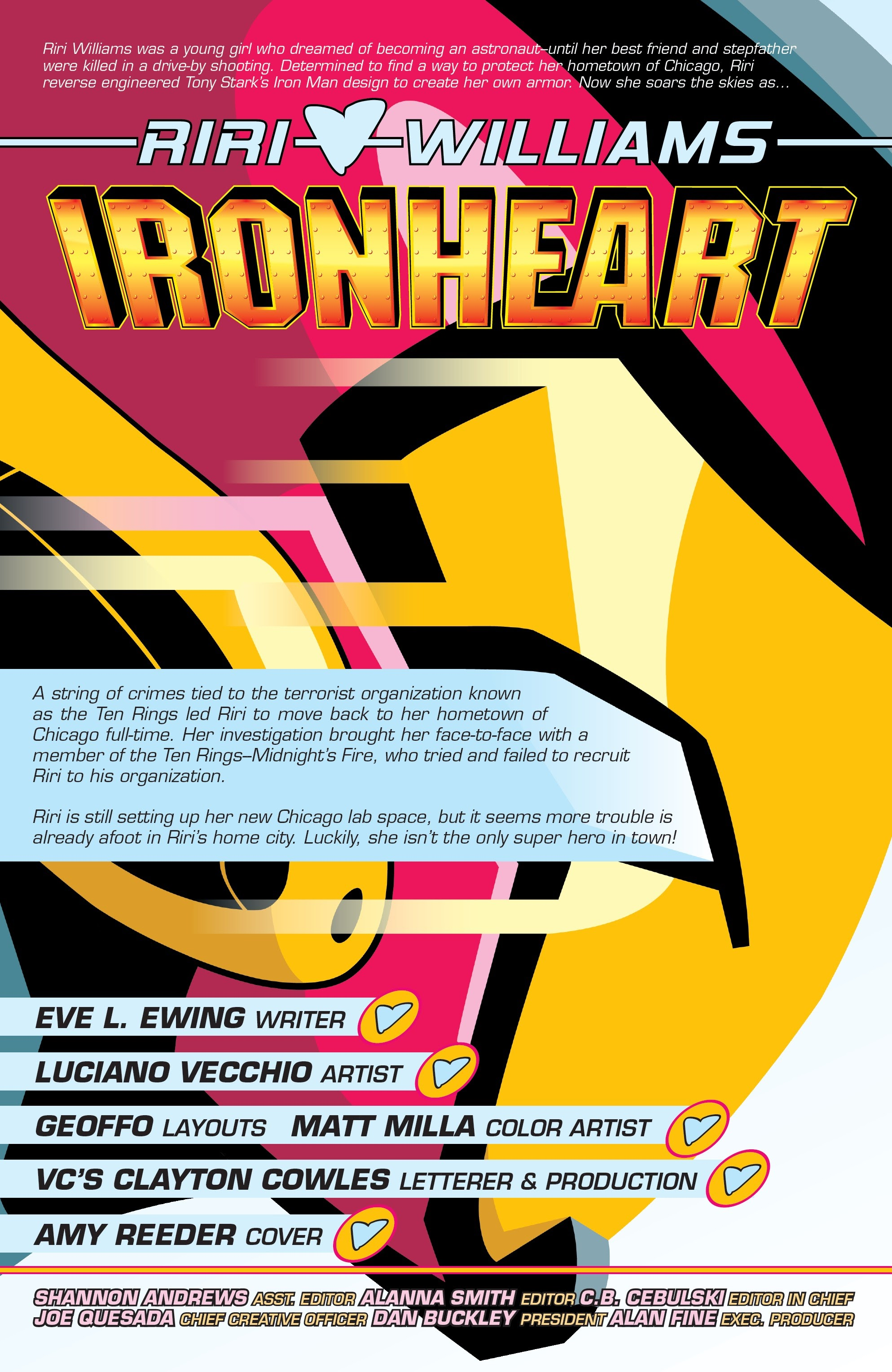 Ironheart 7 Page 1