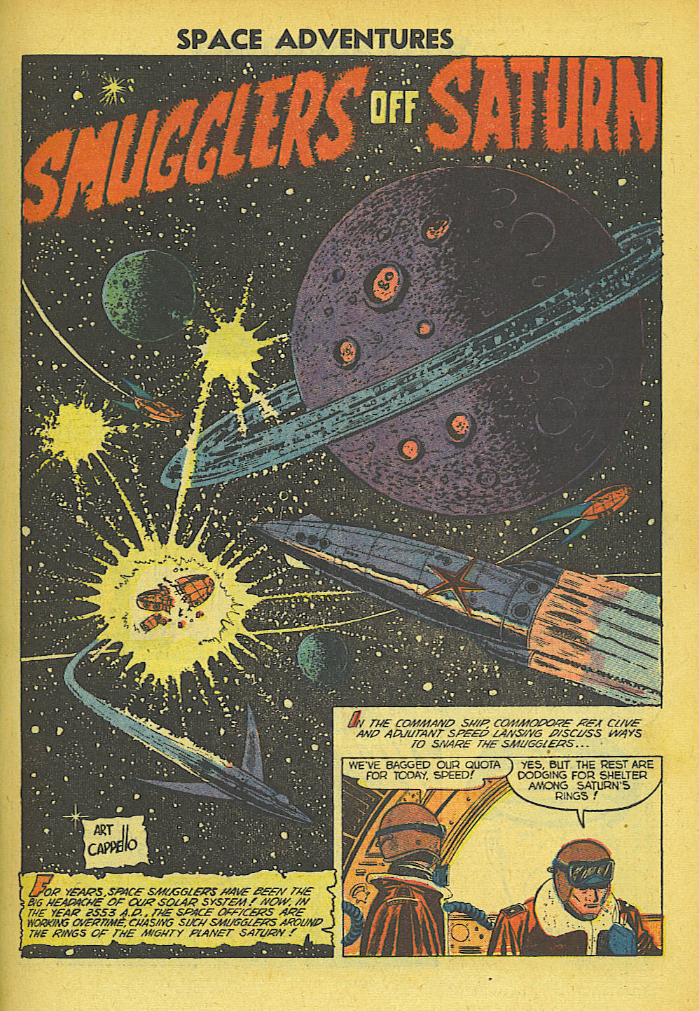 Read online Space Adventures comic -  Issue #5 - 12