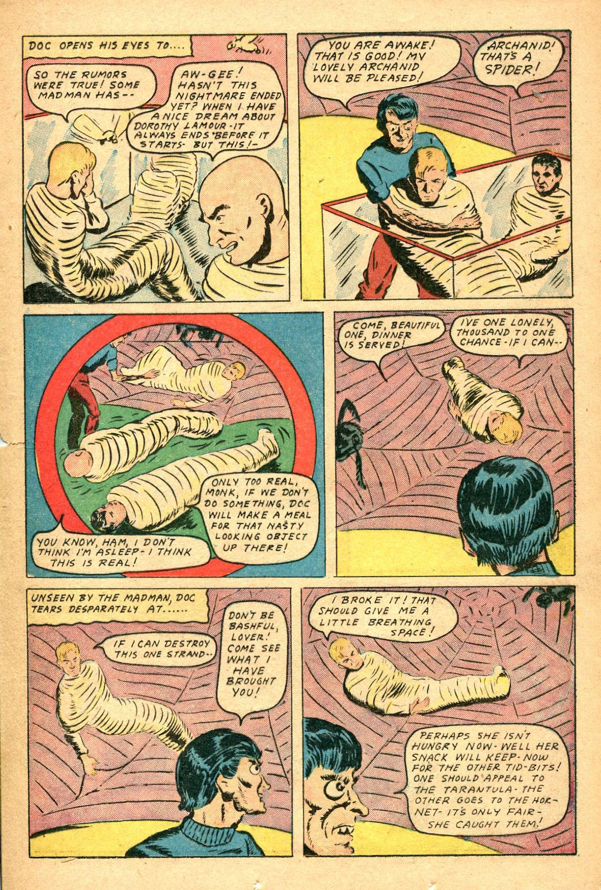 Read online Shadow Comics comic -  Issue #47 - 22