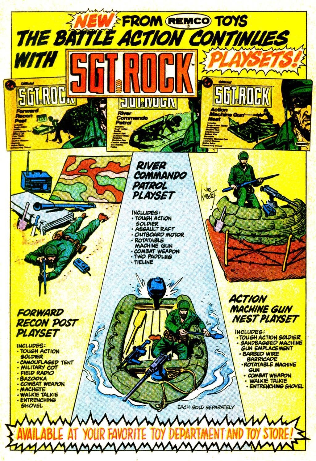 Read online Sgt. Rock comic -  Issue #373 - 23
