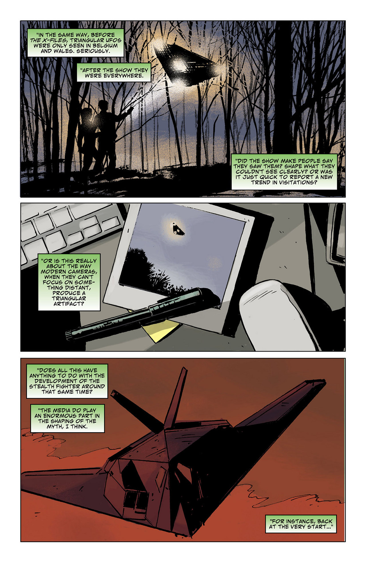 Read online Saucer Country comic -  Issue #6 - 7