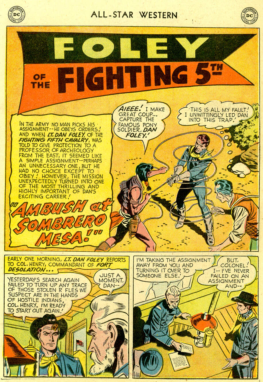 Read online All-Star Western (1951) comic -  Issue #83 - 19