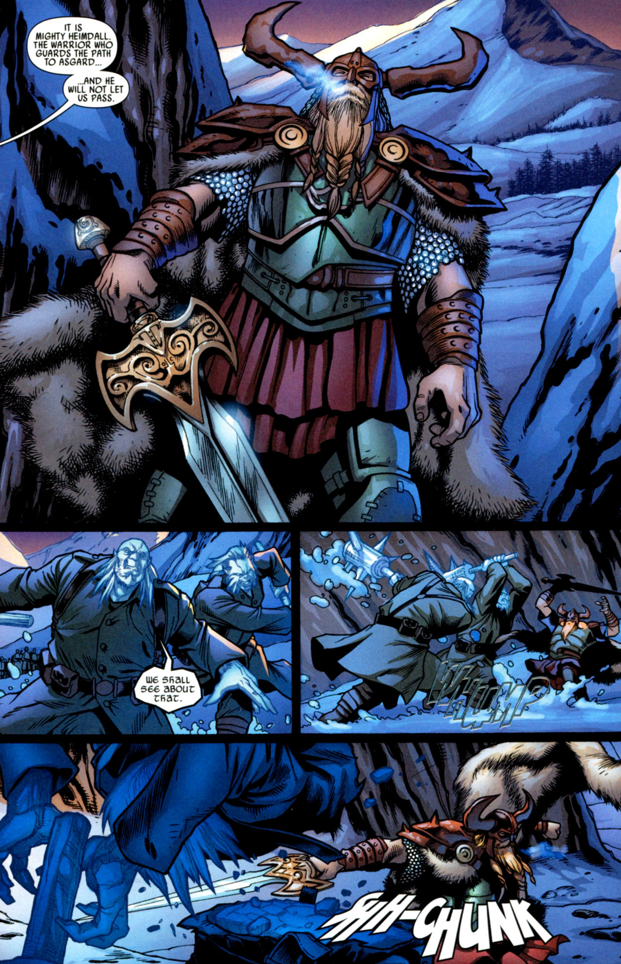 Read online Ultimate Thor comic -  Issue #2 - 23